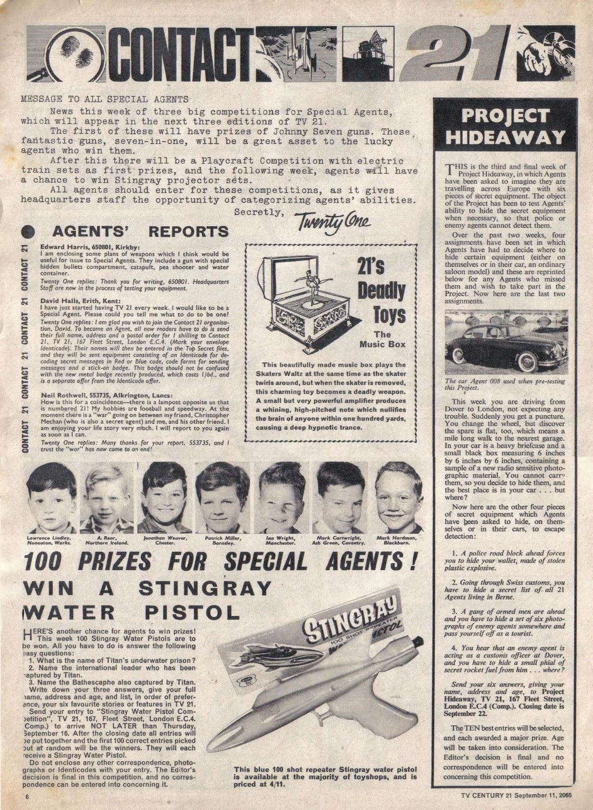 TV Century 21 (TV 21) issue 34 - Page 6