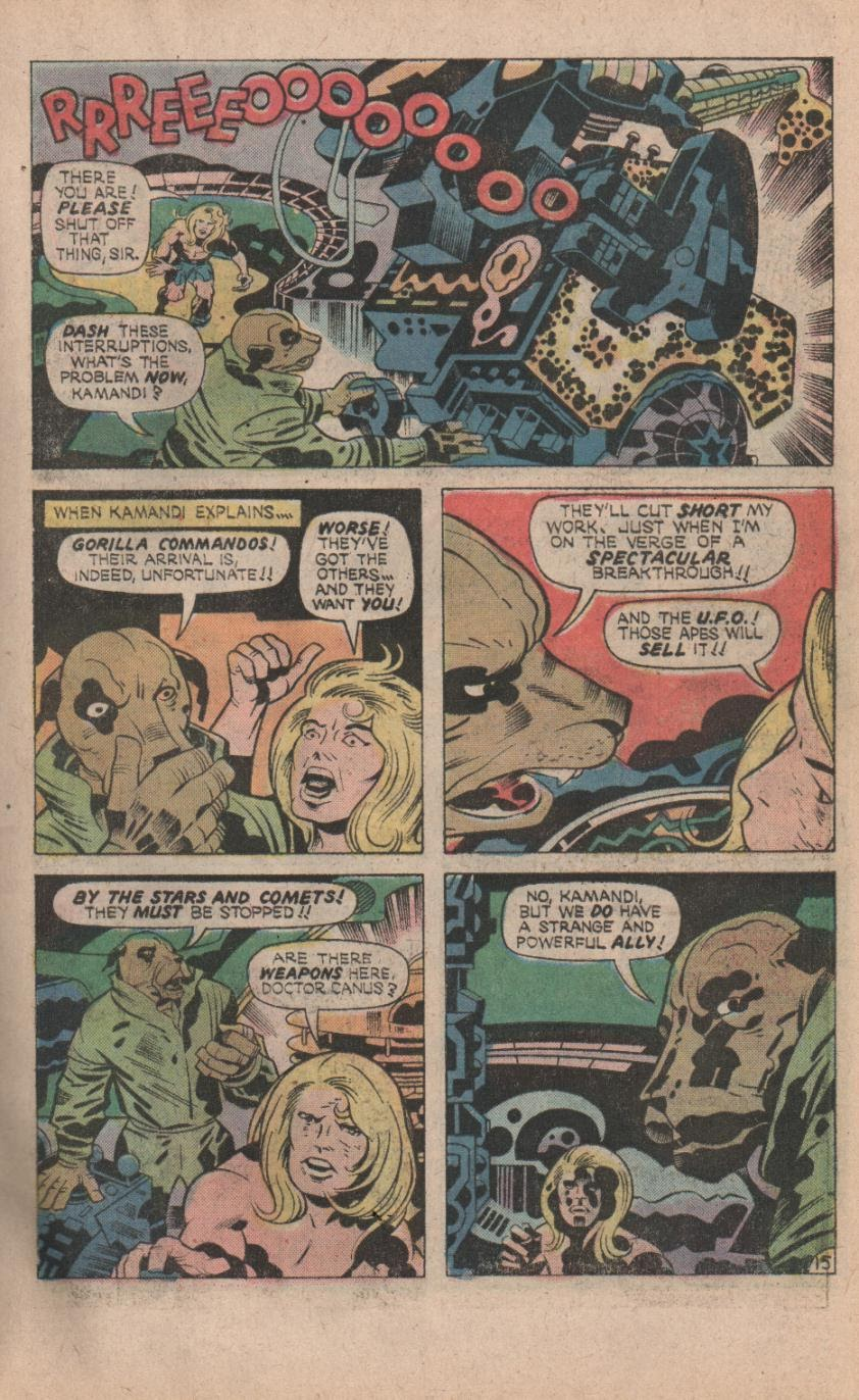 Kamandi, The Last Boy On Earth issue 32 - Page 17