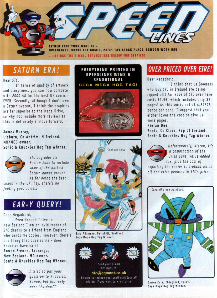 Read online Sonic the Comic comic -  Issue #86 - 29
