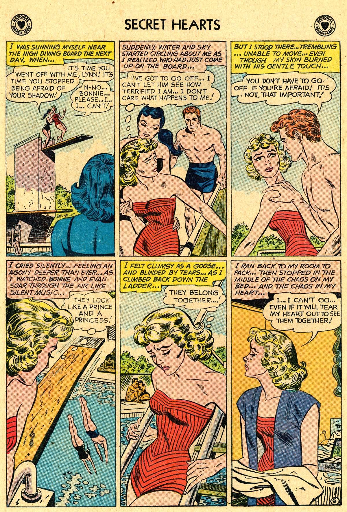 Read online Secret Hearts comic -  Issue #60 - 32