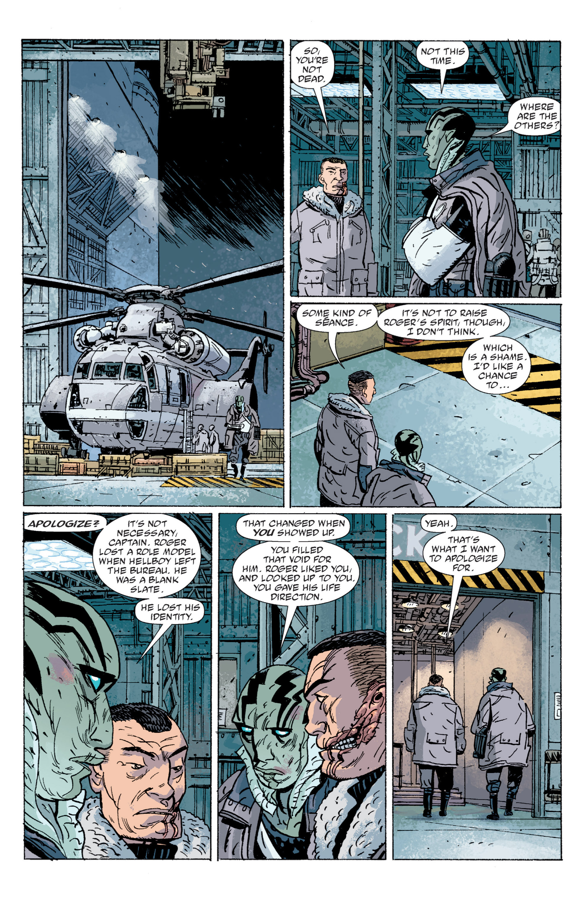 Read online B.P.R.D. (2003) comic -  Issue # TPB 5 - 130