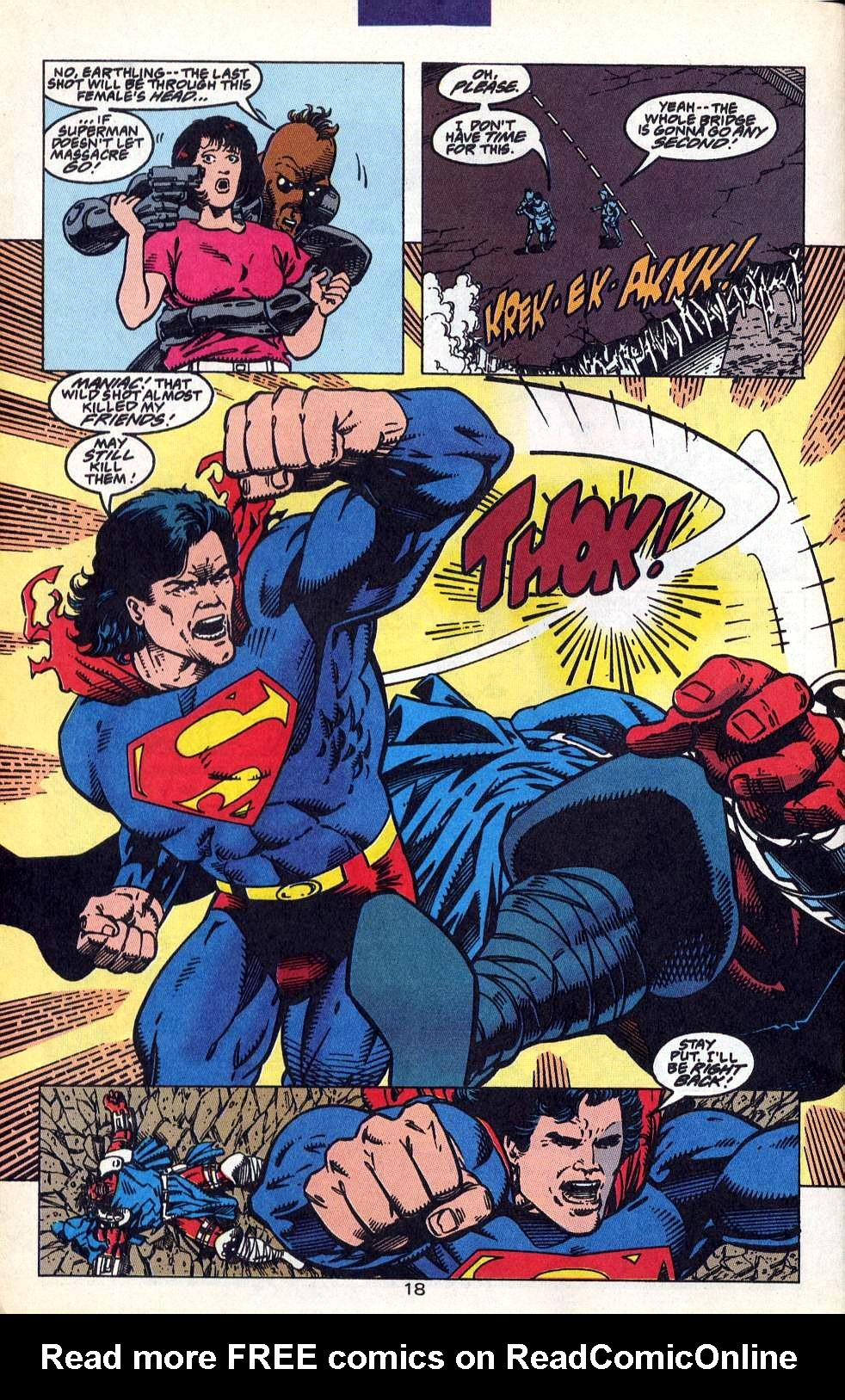 Read online Adventures of Superman (1987) comic -  Issue #515 - 20