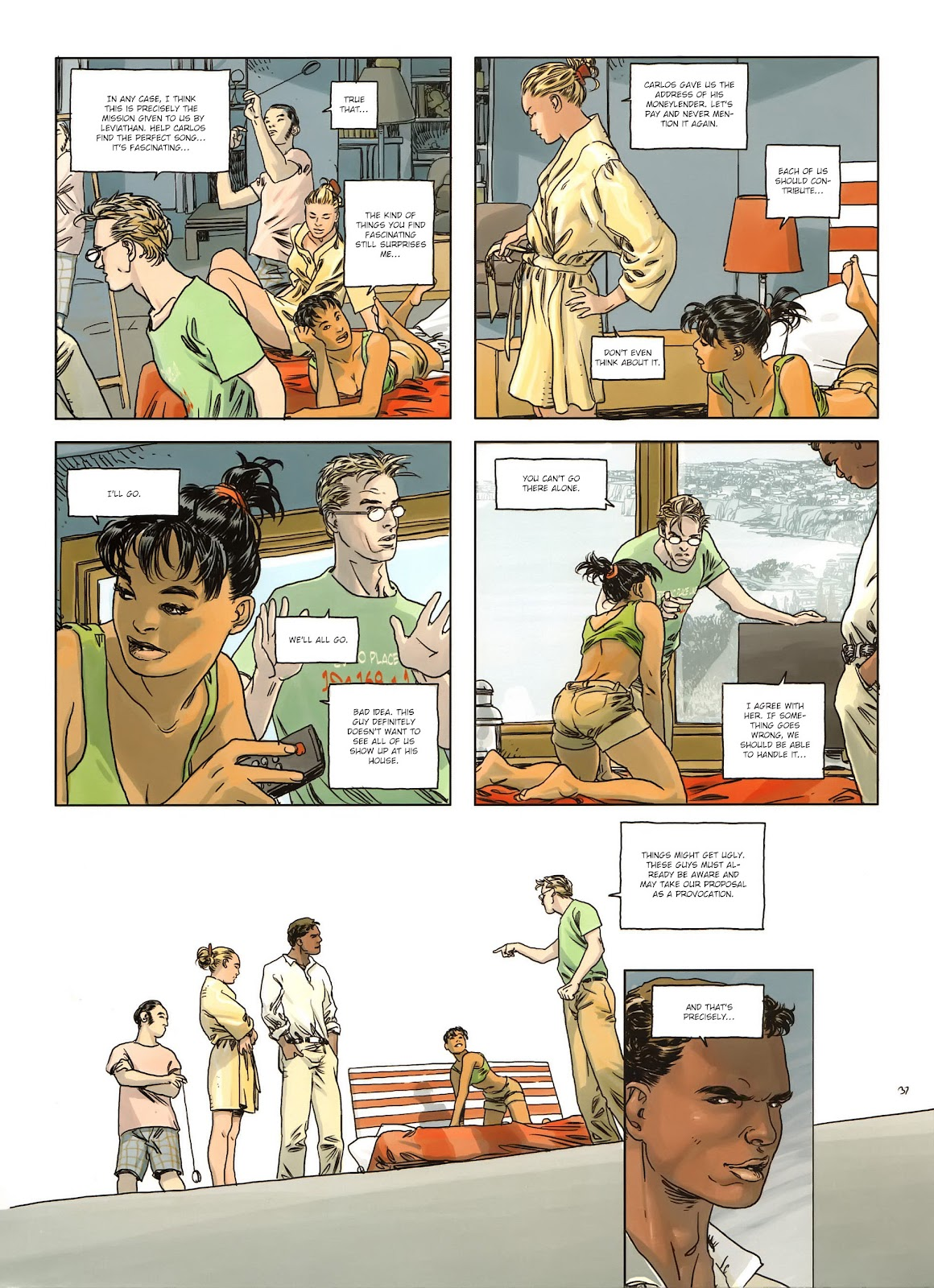 Read online Cutting Edge (2013) comic -  Issue #1 - 37