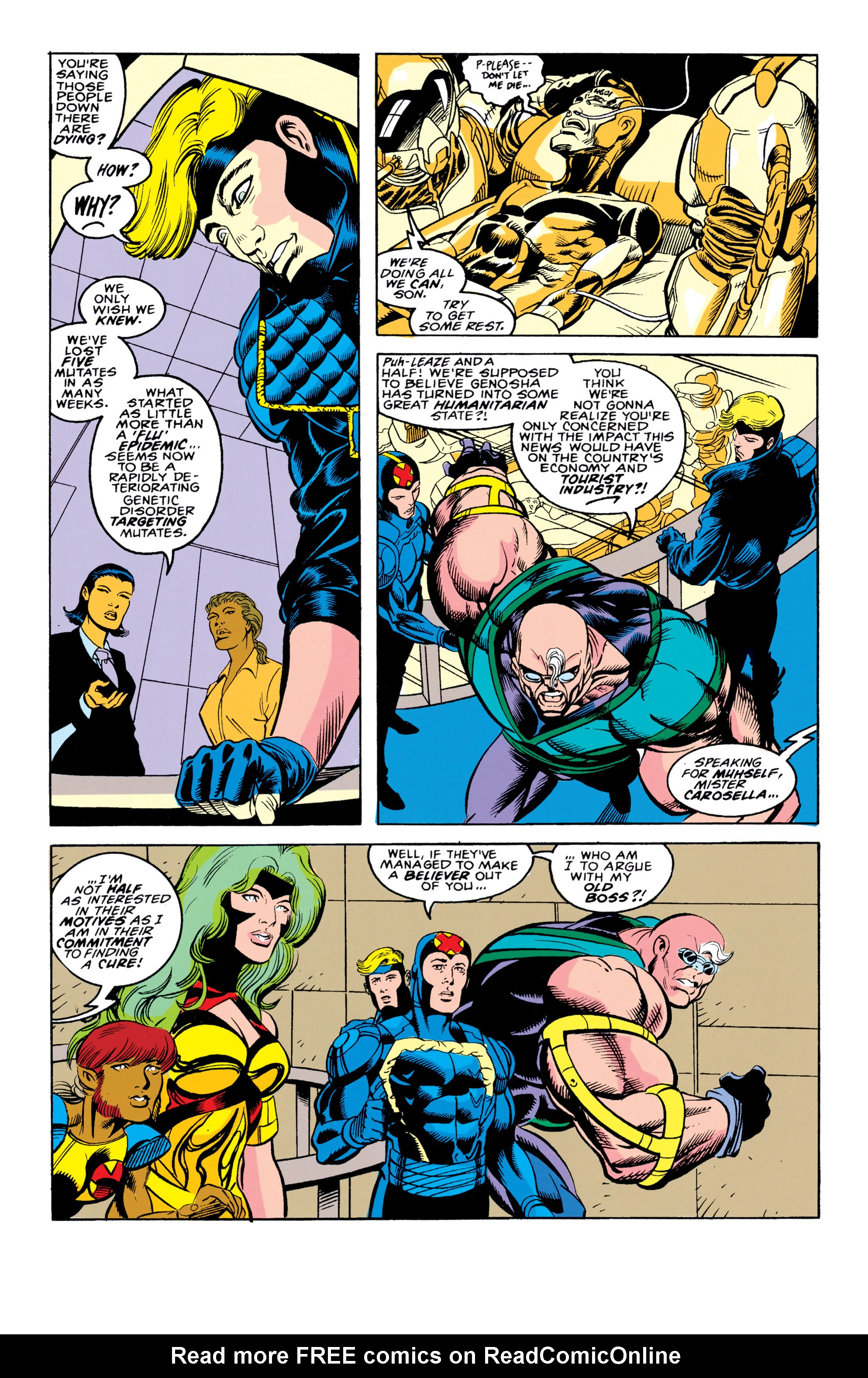 Read online X-Factor (1986) comic -  Issue #90 - 17