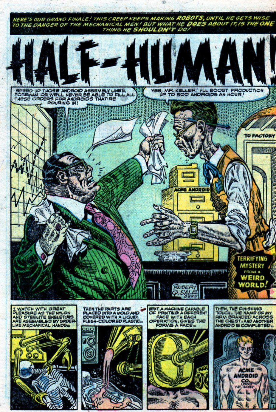 Read online Adventures into Weird Worlds comic -  Issue #27 - 29