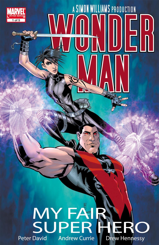 Read online Wonder Man (2007) comic -  Issue #1 - 1
