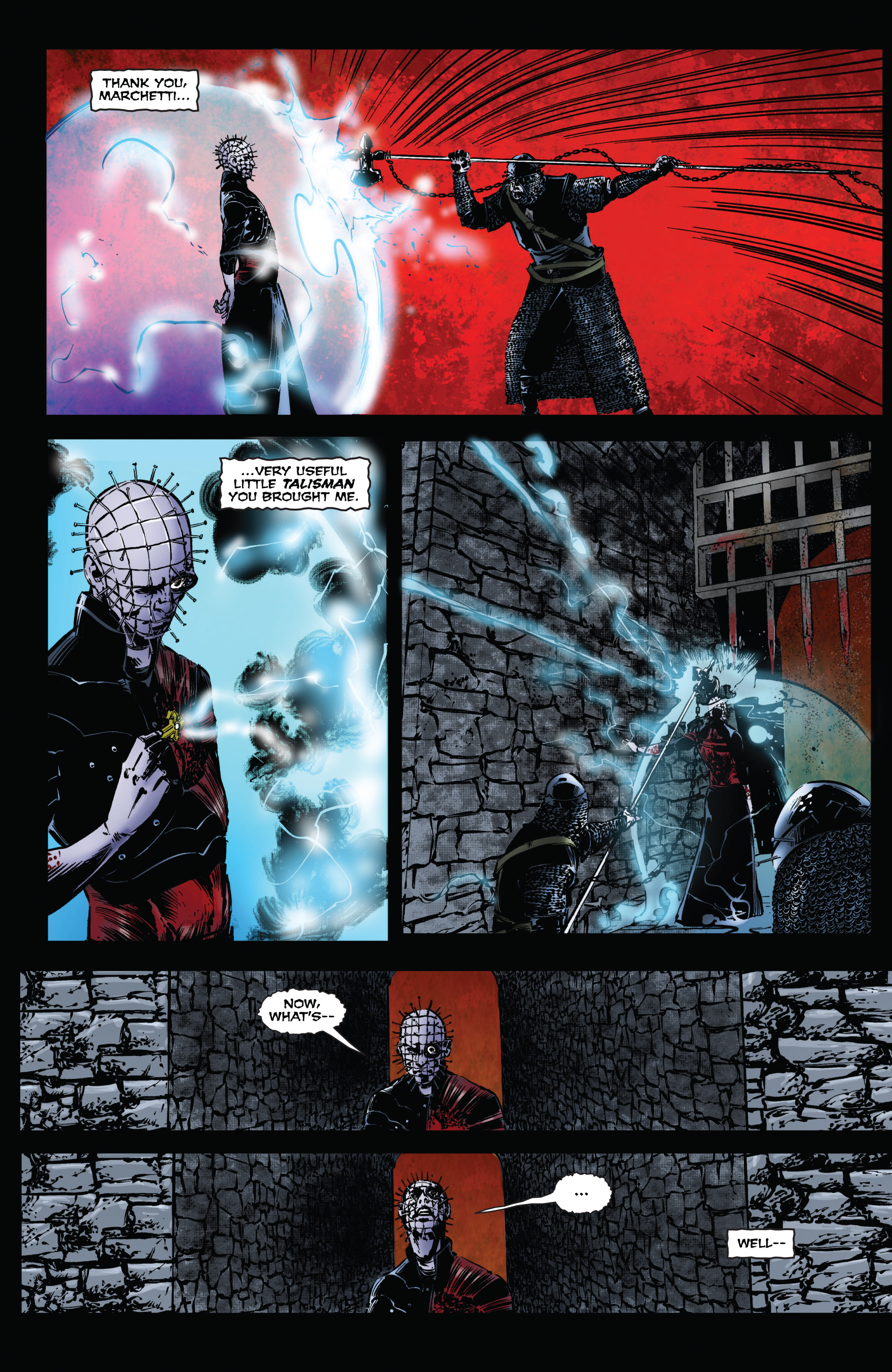 Read online Clive Barker's Hellraiser: The Dark Watch comic -  Issue # TPB 1 - 85