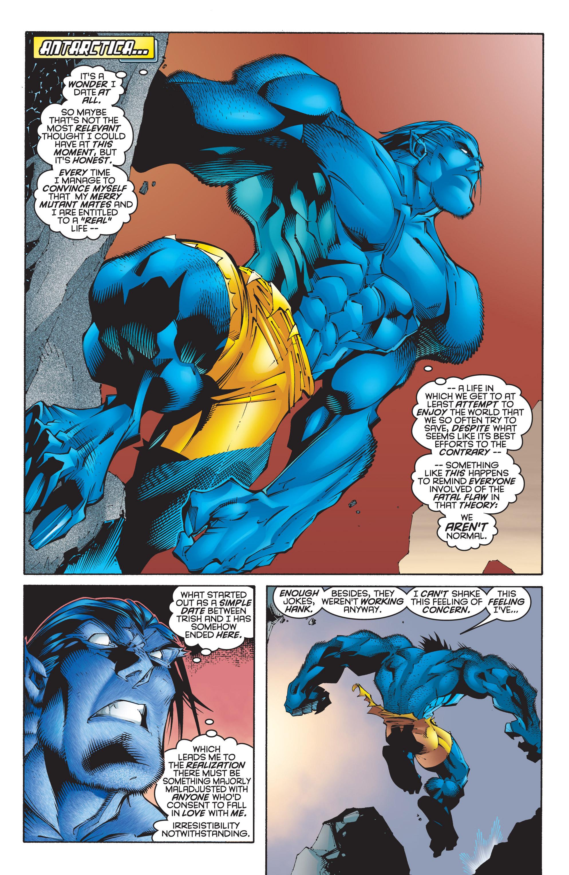 Read online Uncanny X-Men (1963) comic -  Issue #348 - 15