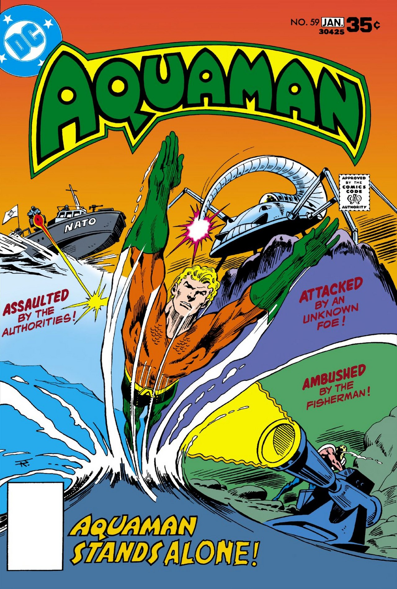 Read online Aquaman (1962) comic -  Issue #59 - 1