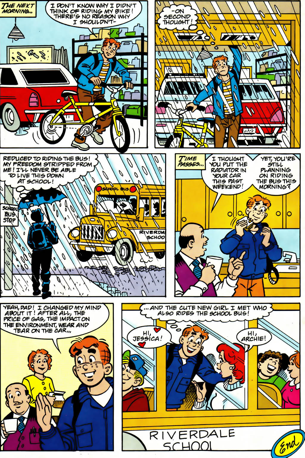 Read online Archie (1960) comic -  Issue #561 - 12