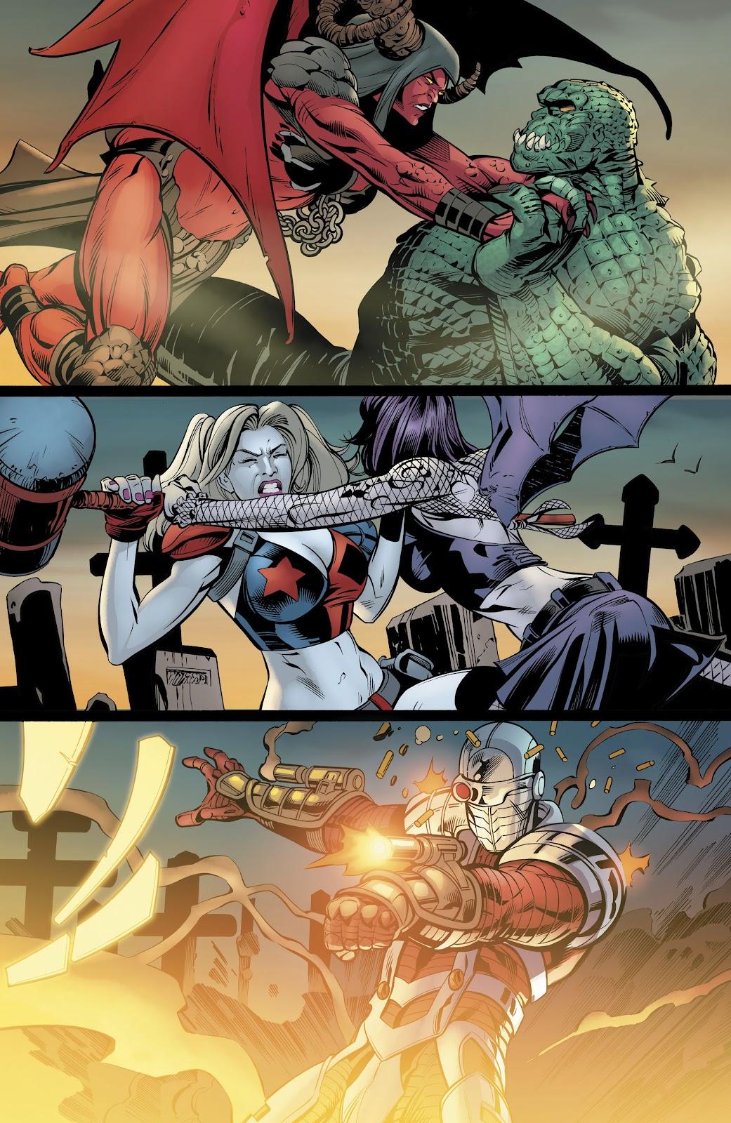 Read online Suicide Squad Black Files comic -  Issue #4 - 34