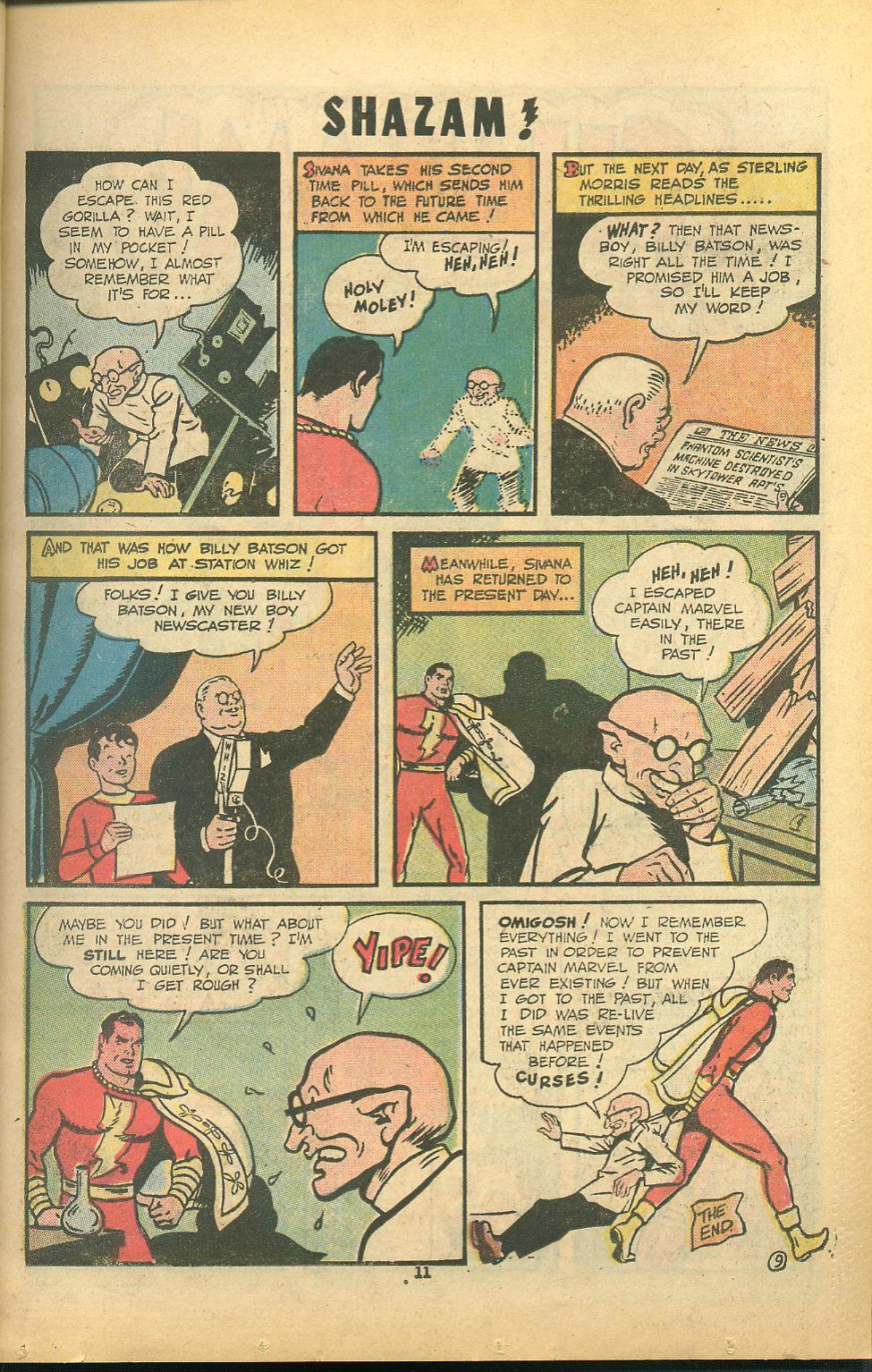 Read online Shazam! (1973) comic -  Issue #8 - 11
