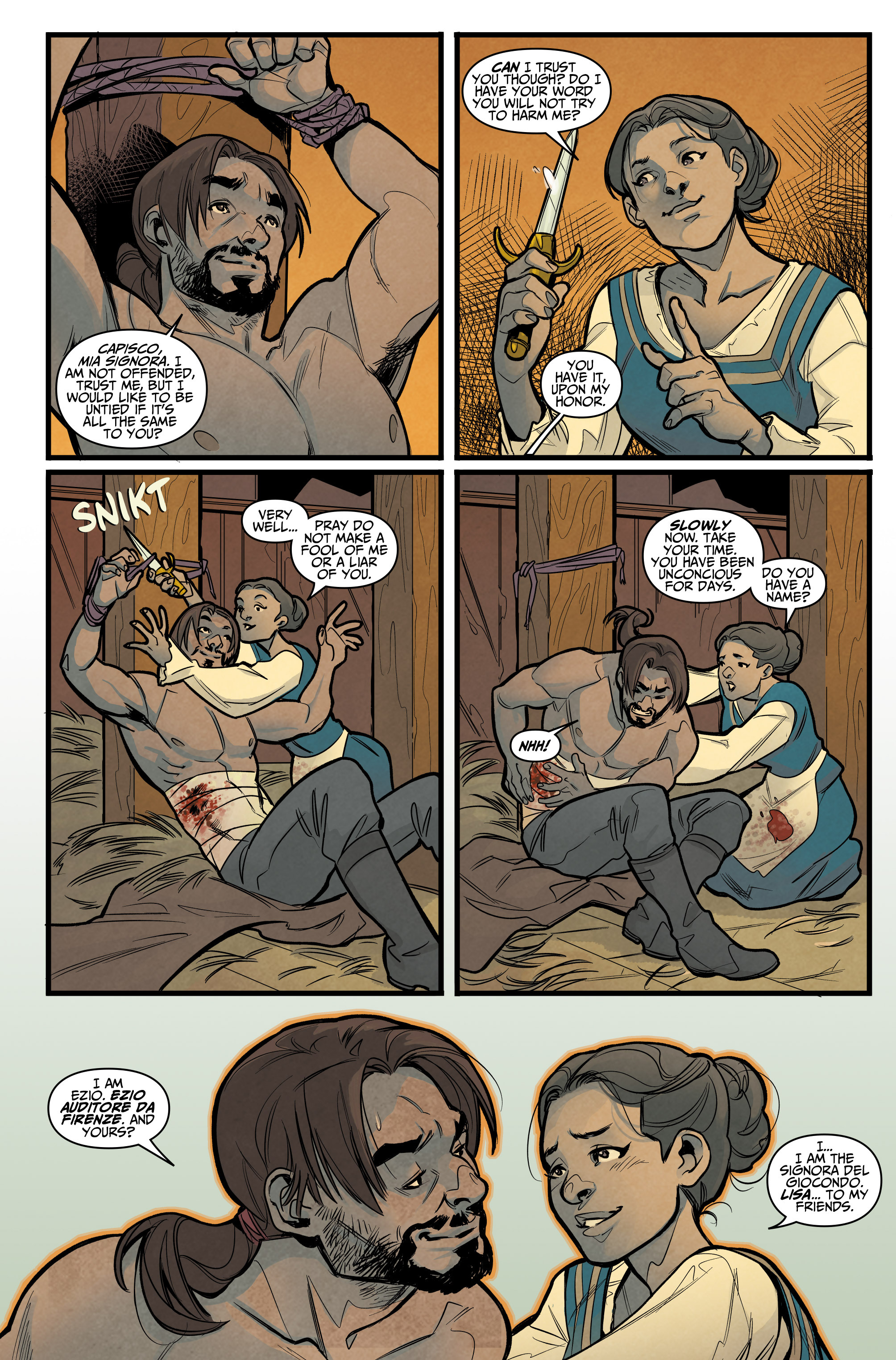 Read online Assassin's Creed: Reflections comic -  Issue #1 - 13