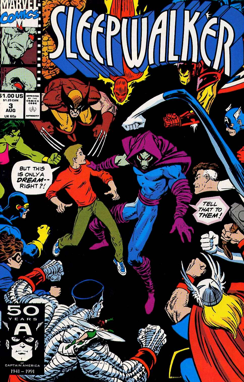 Read online Sleepwalker comic -  Issue #3 - 1