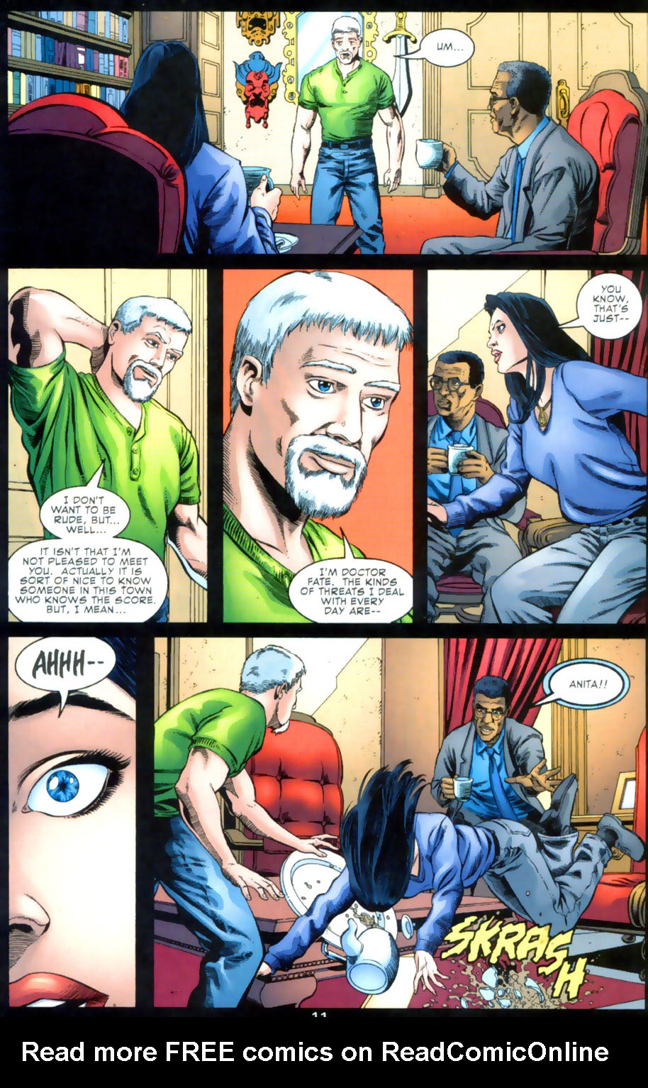 Read online Doctor Fate (2003) comic -  Issue #2 - 12
