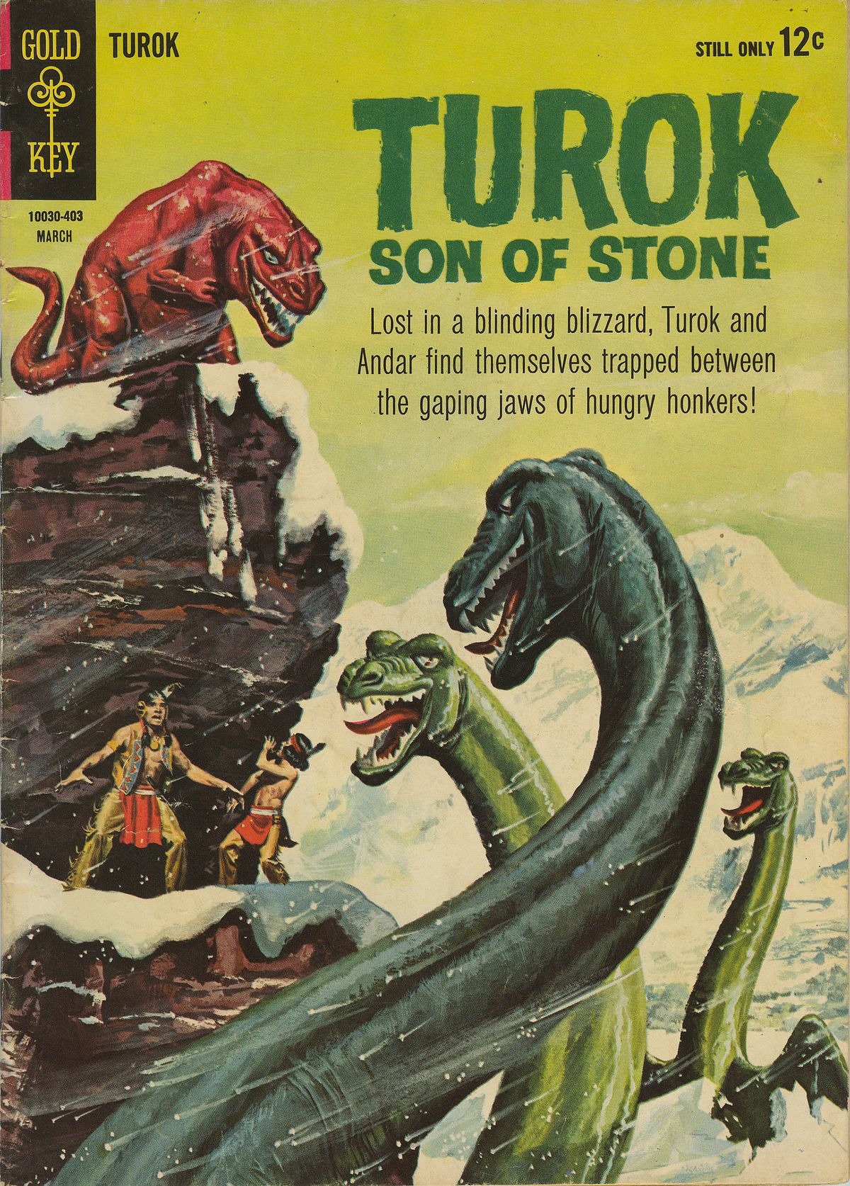 Read online Turok, Son of Stone comic -  Issue #38 - 1