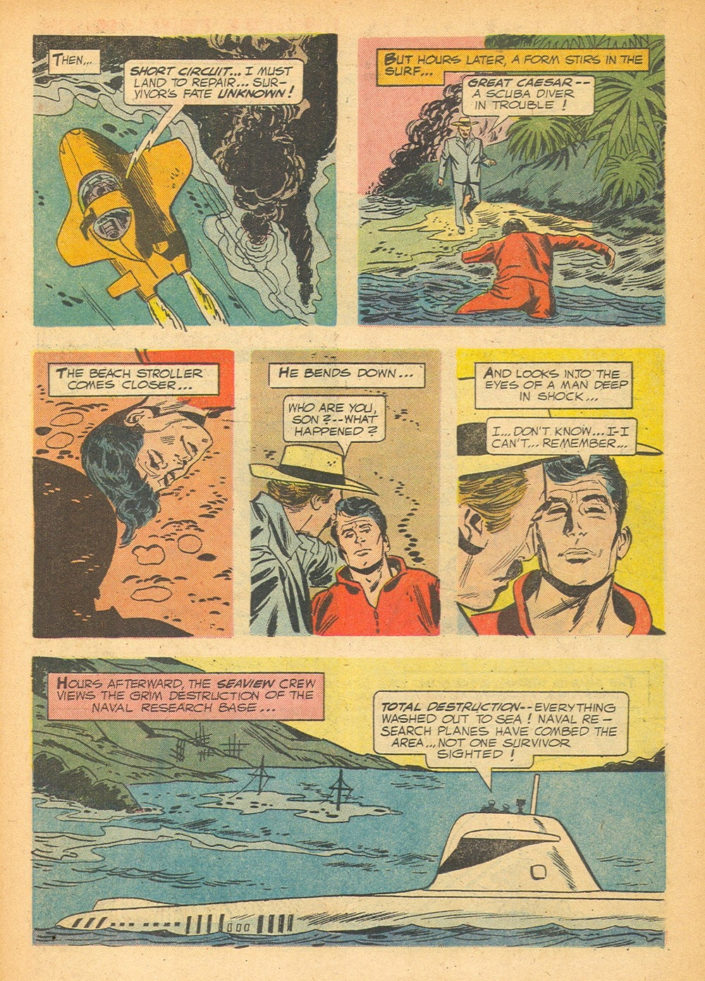 Voyage to the Bottom of the Sea issue 1 - Page 14