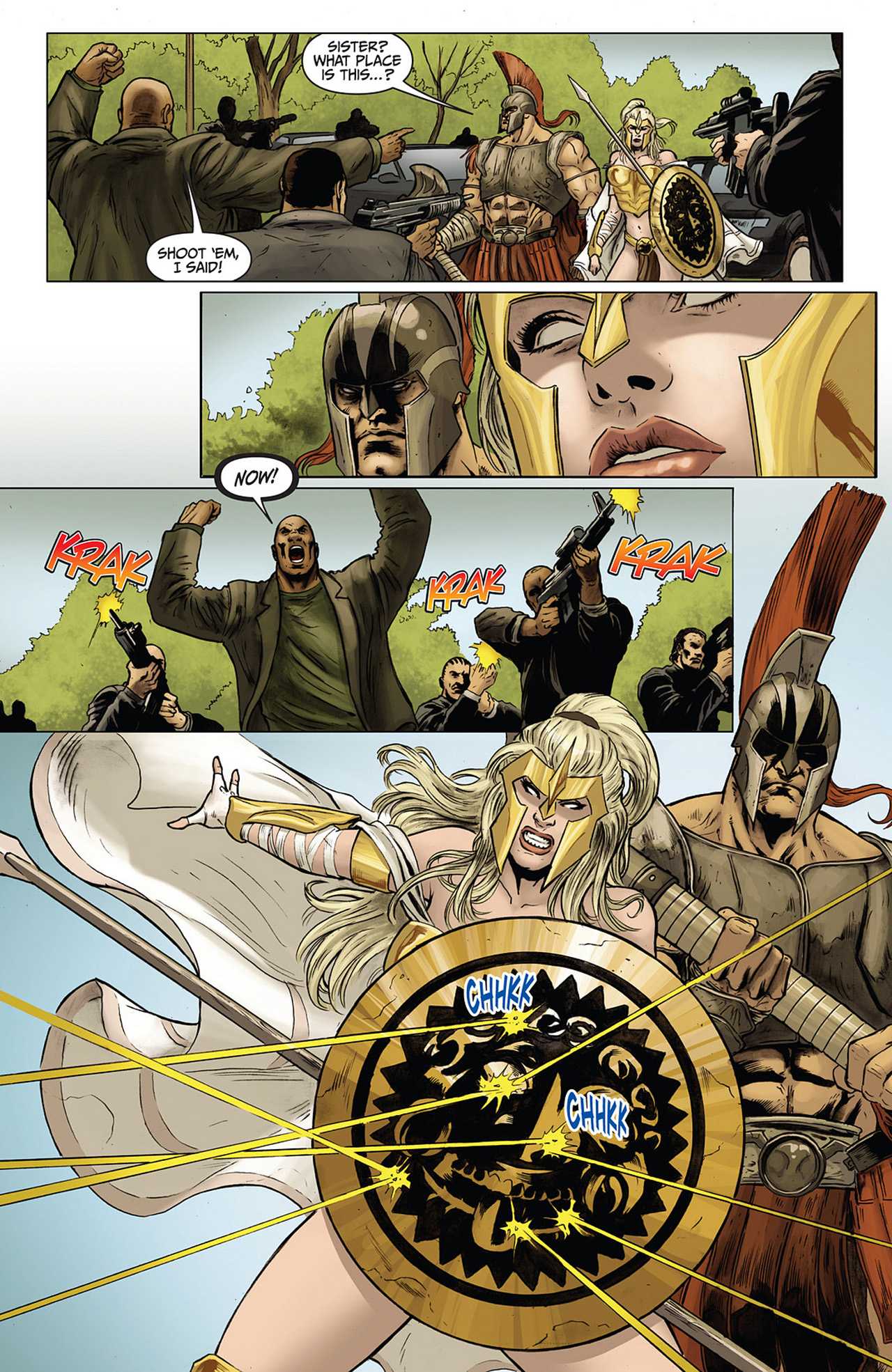 Read online Athena comic -  Issue #3 - 6