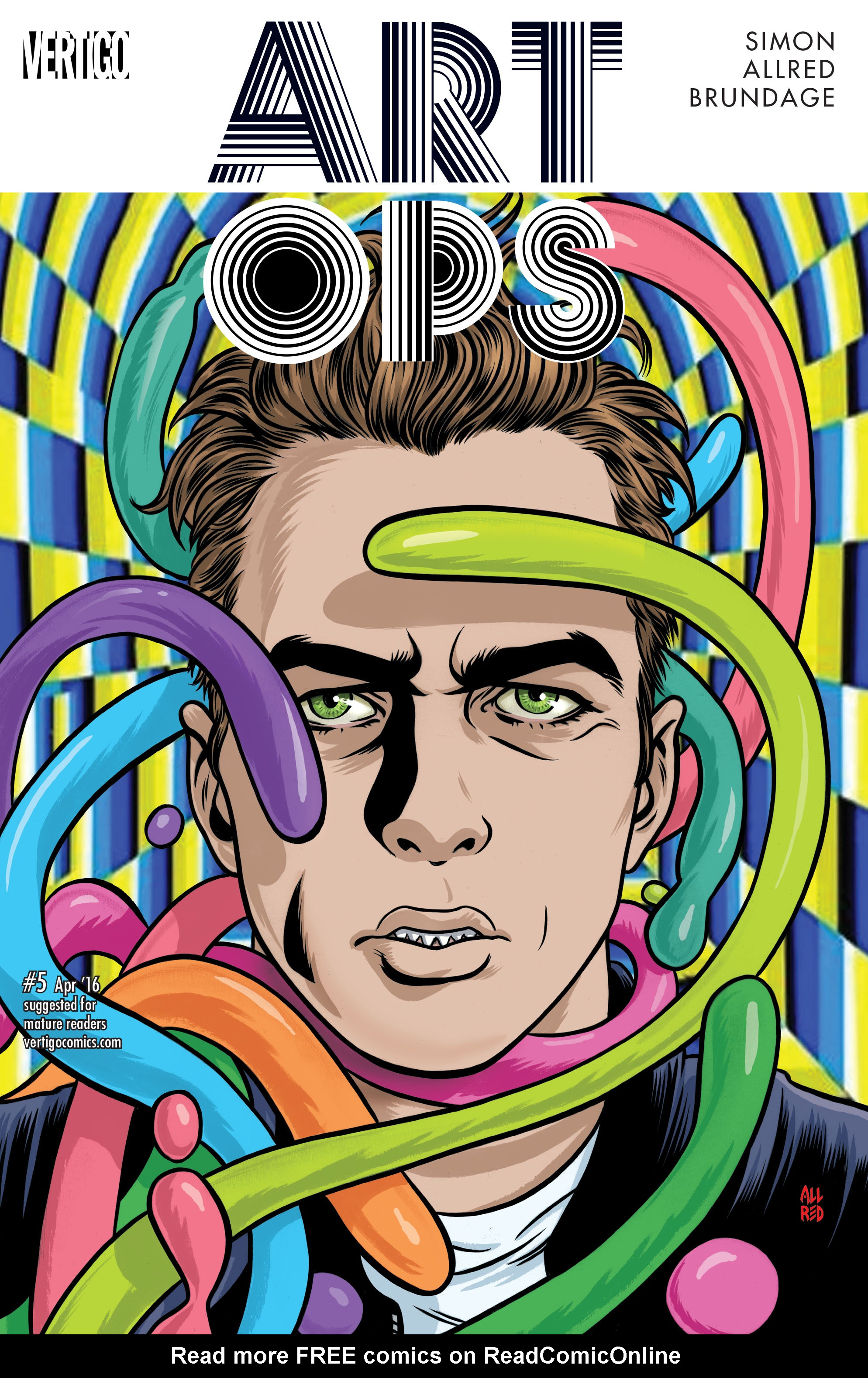 Read online Art Ops comic -  Issue #5 - 1