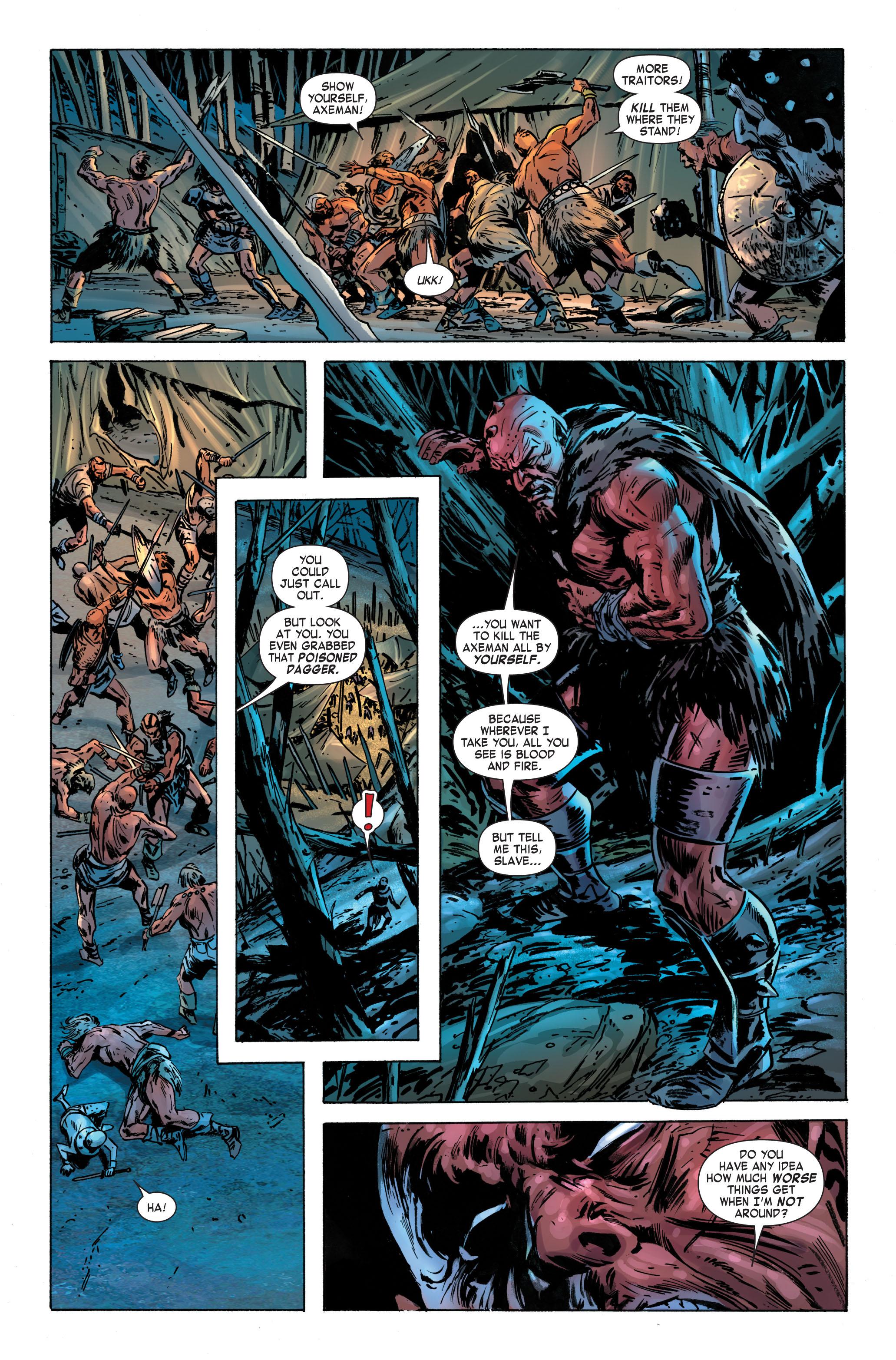 Read online Skaar: Son of Hulk comic -  Issue #3 - 17