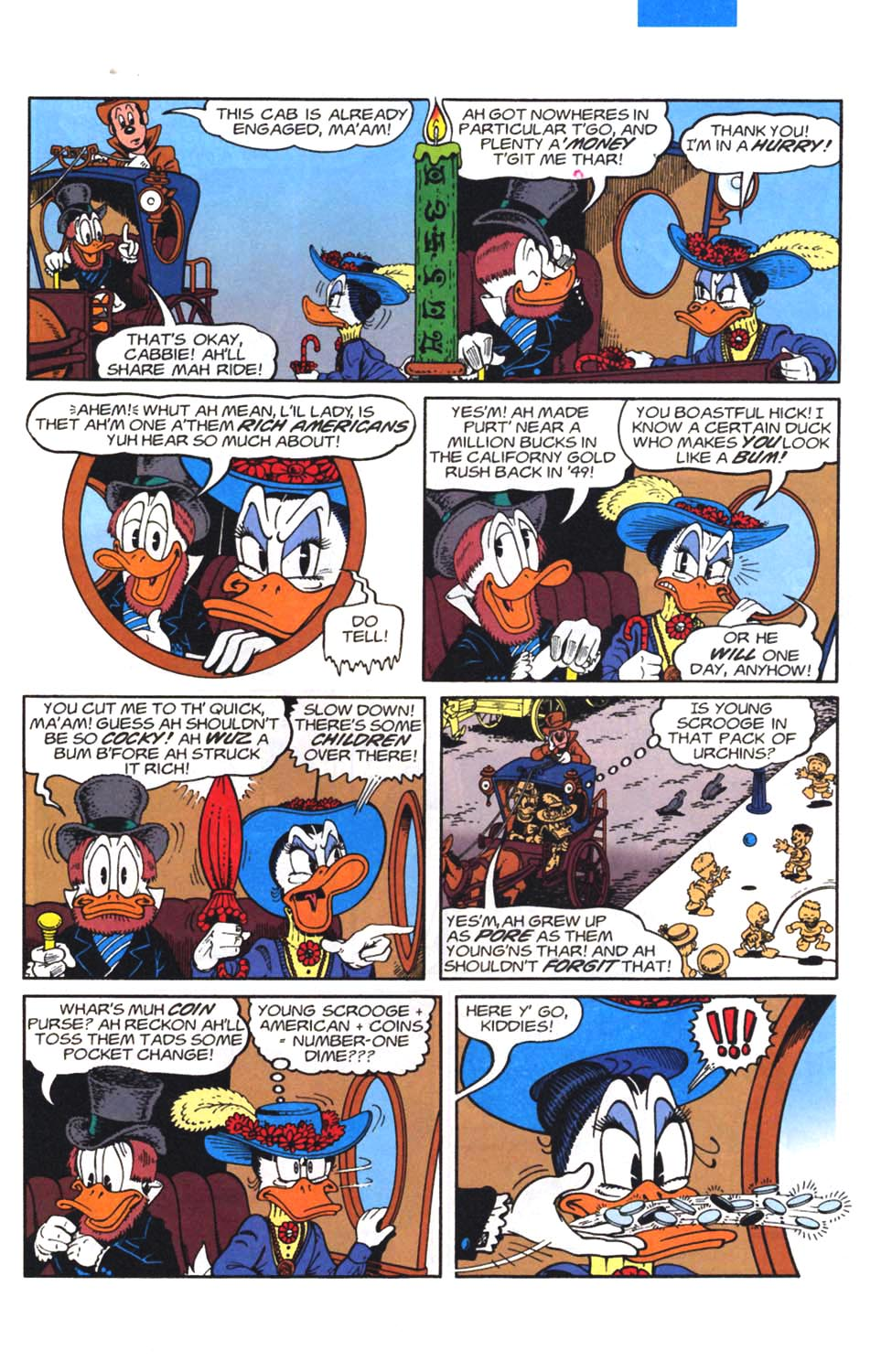 Read online Uncle Scrooge (1953) comic -  Issue #297 - 6