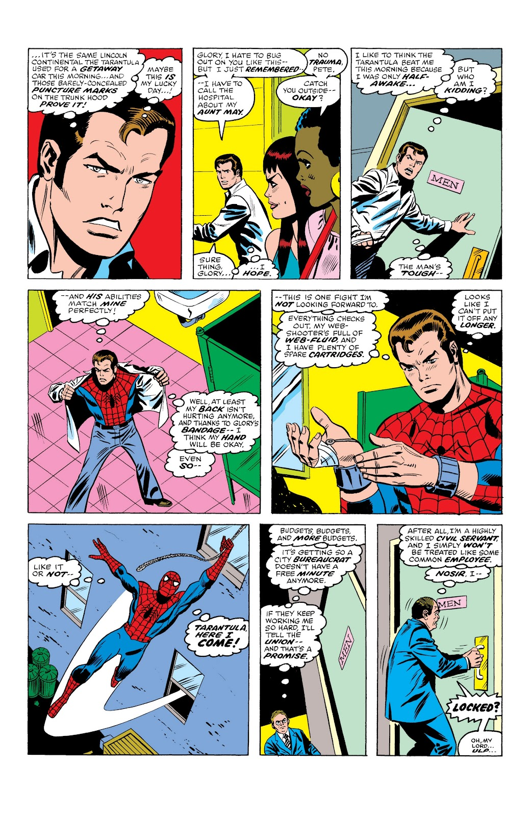 Read online Marvel Masterworks: The Spectacular Spider-Man comic -  Issue # TPB (Part 1) - 16