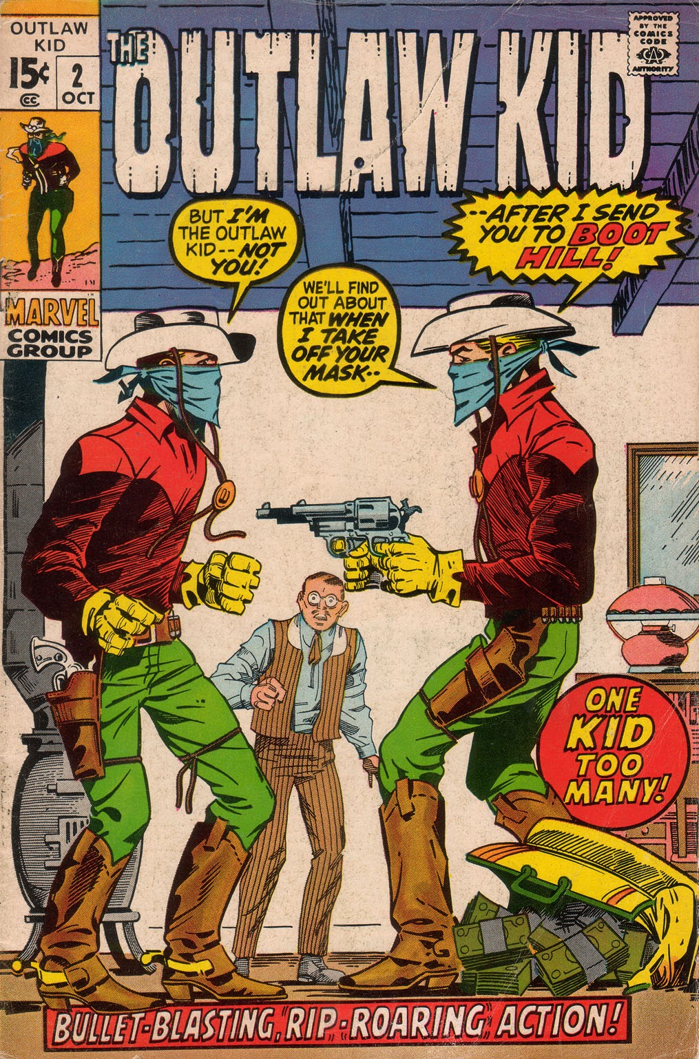 The Outlaw Kid (1970) issue 2 - Page 1