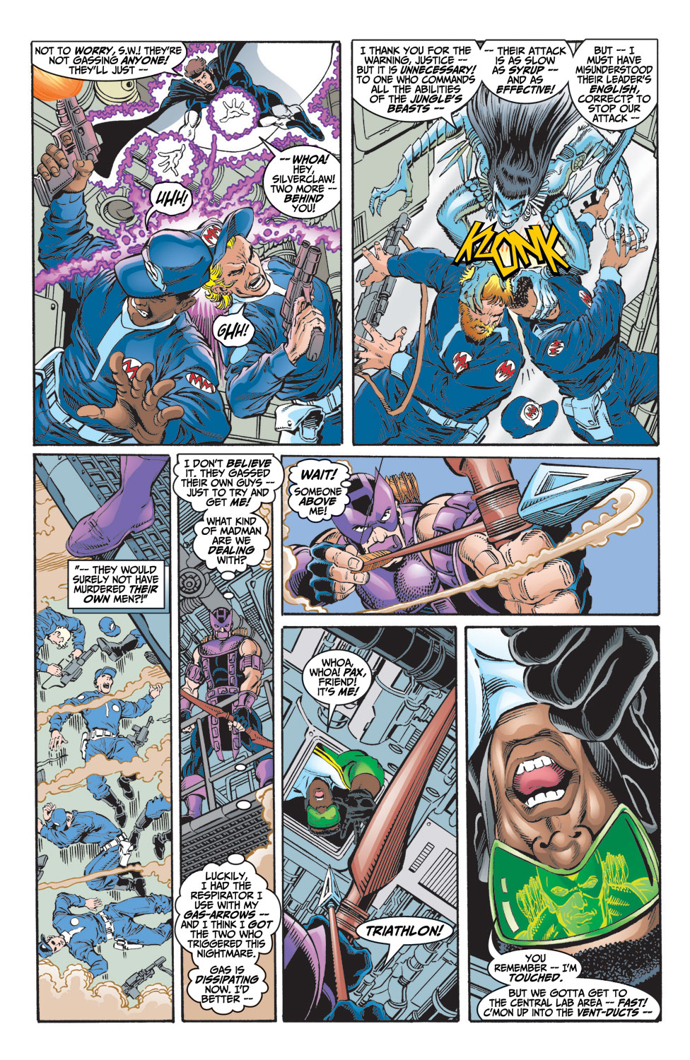 Read online Avengers (1998) comic -  Issue #9 - 9