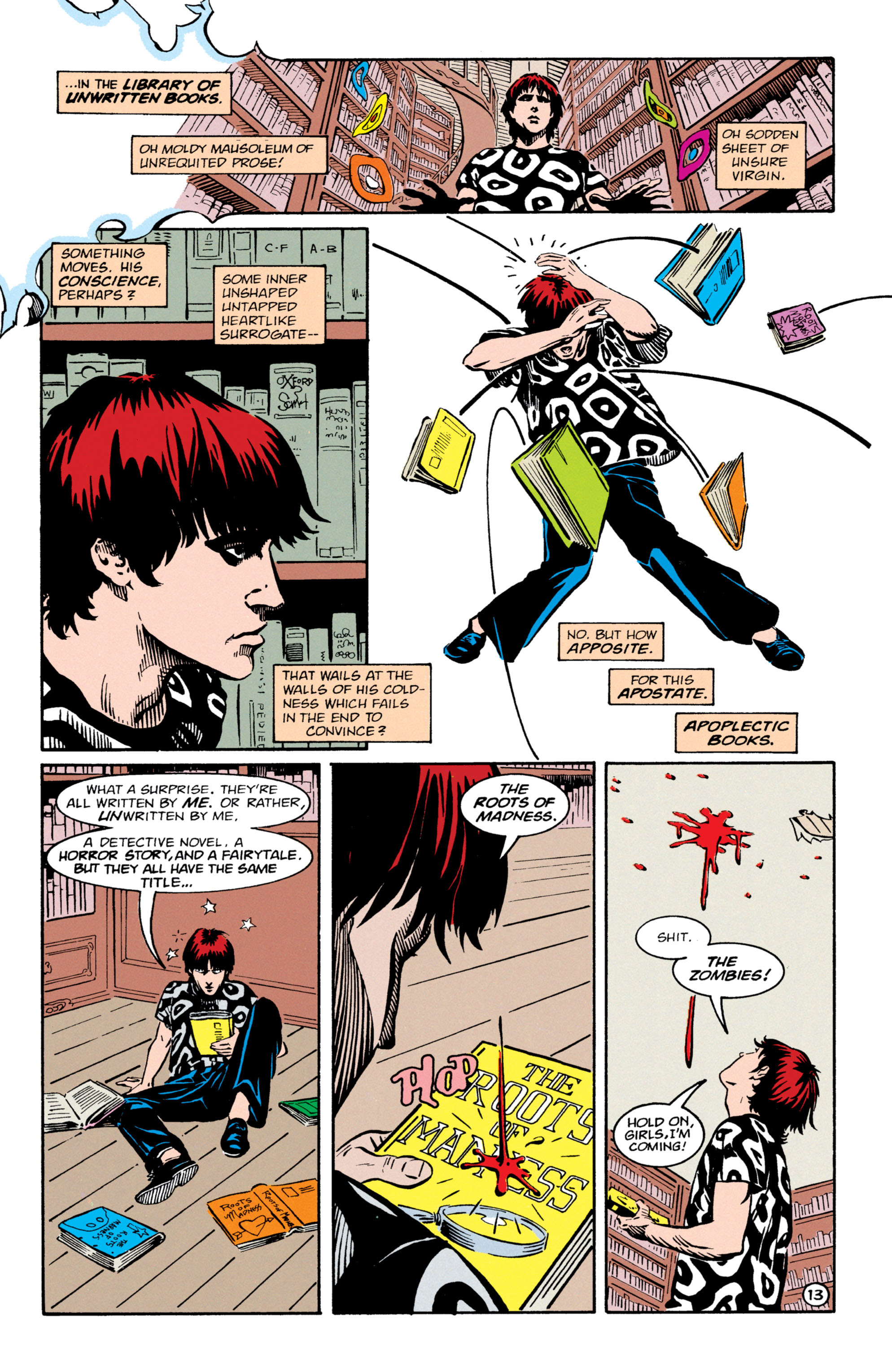 Read online Shade, the Changing Man comic -  Issue #64 - 14