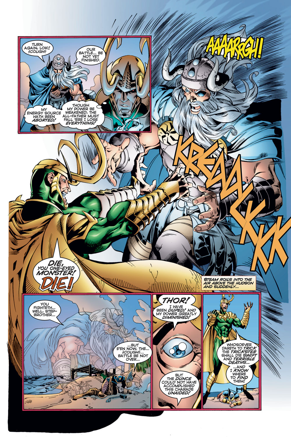 Read online Avengers (1996) comic -  Issue #11 - 17