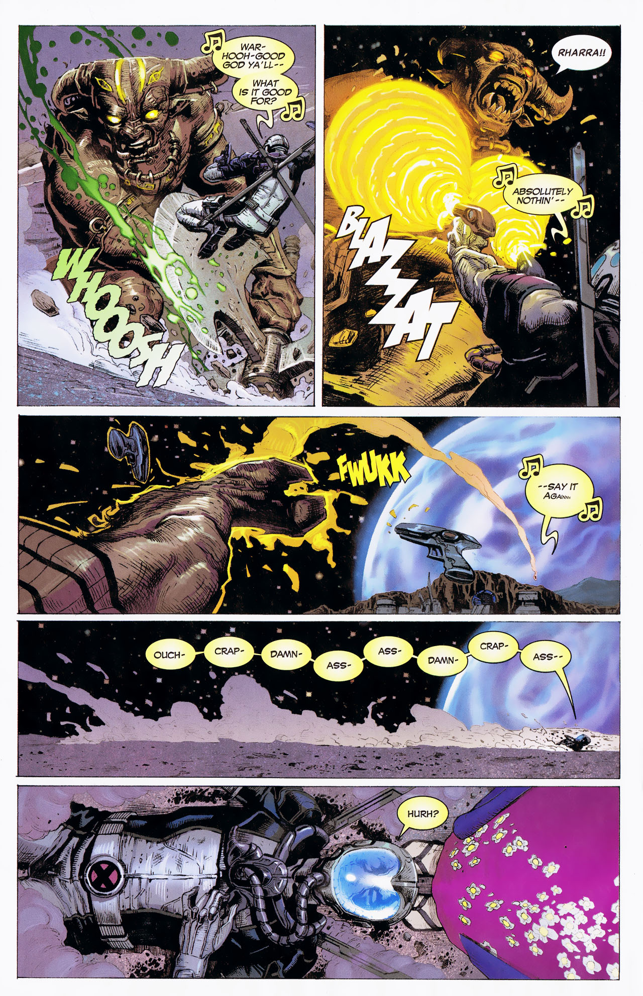 Read online Uncanny X-Force: The Apocalypse Solution comic -  Issue # Full - 46
