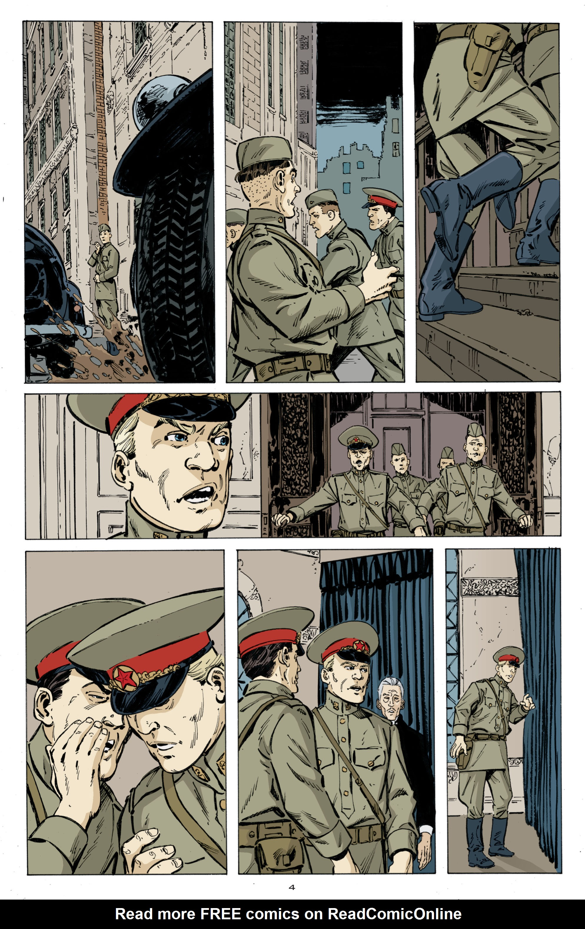 Read online Cold War comic -  Issue # TPB - 12