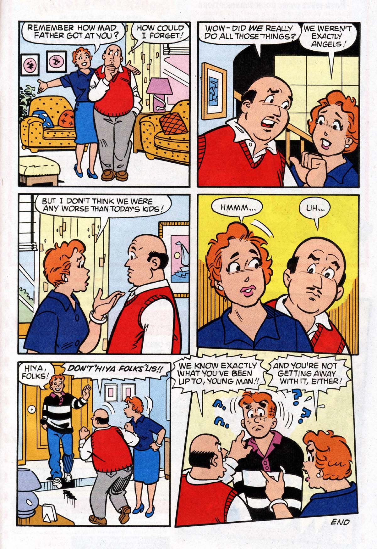 Read online Archie (1960) comic -  Issue #527 - 28