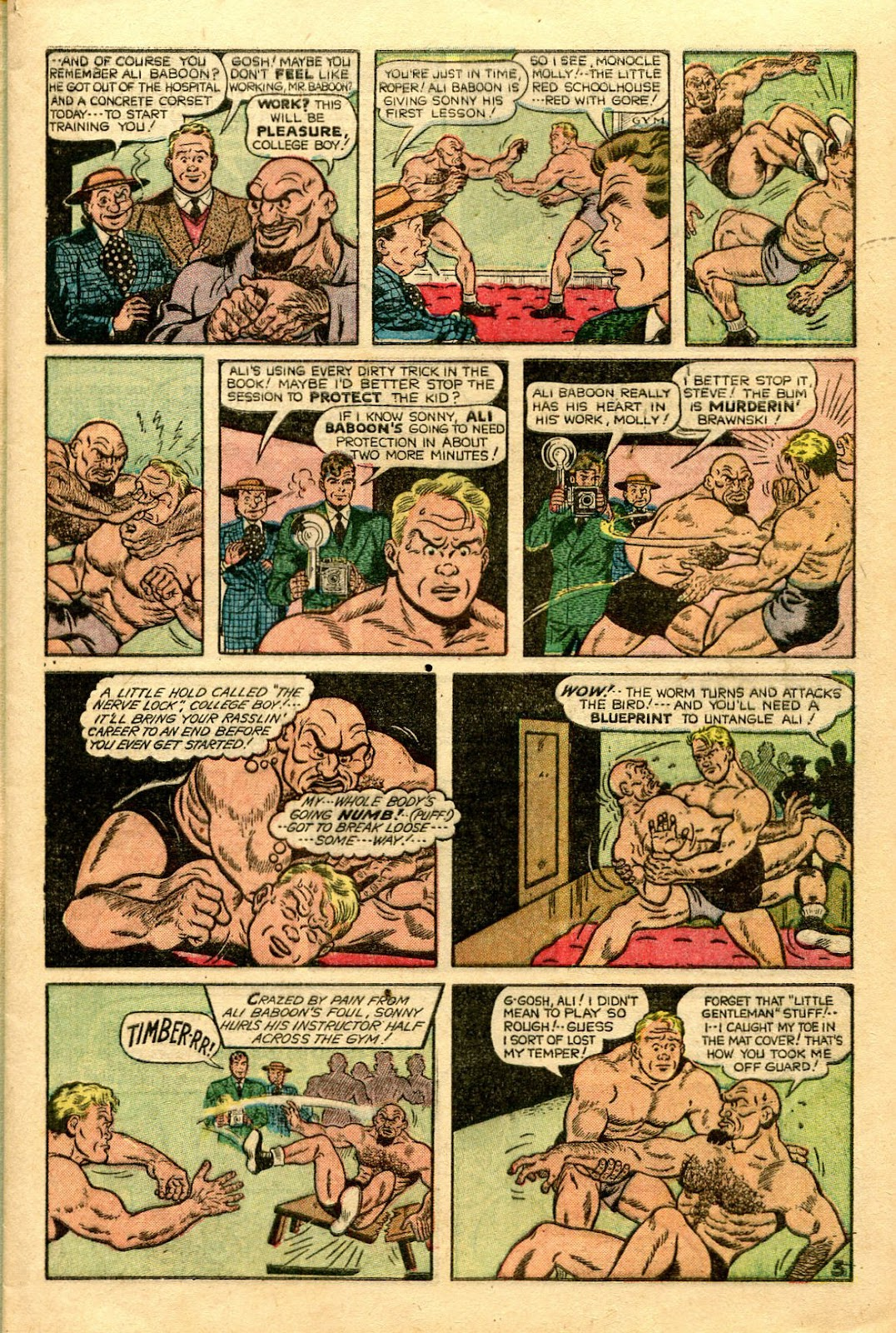 Read online Famous Funnies comic -  Issue #188 - 10