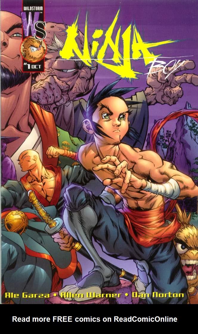 Read online Ninja Boy comic -  Issue #1 - 1