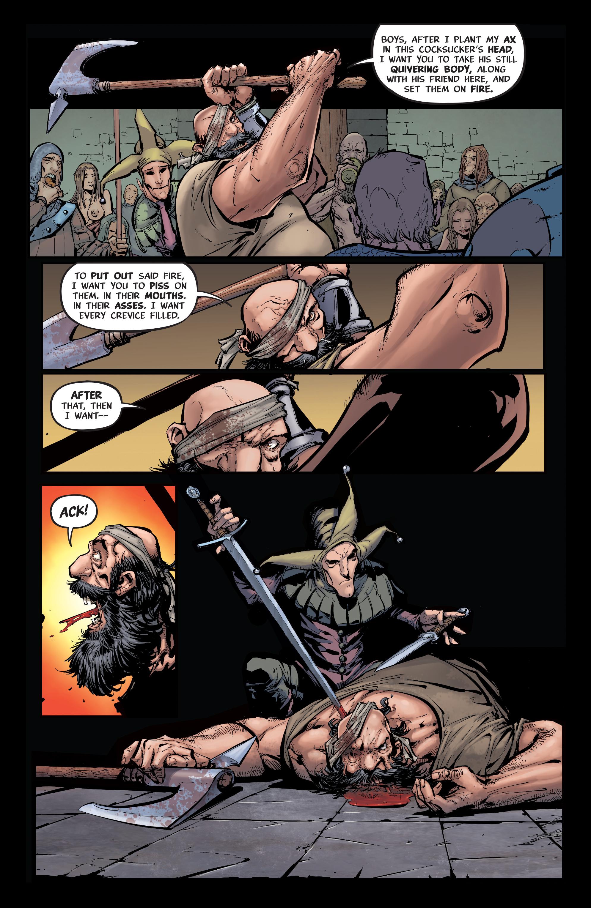 Read online Pestilence comic -  Issue #1 - 12