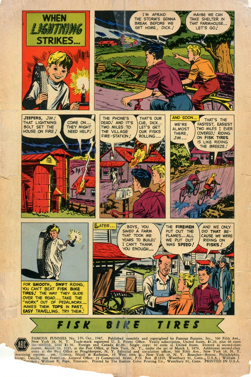 Read online Famous Funnies comic -  Issue #159 - 2
