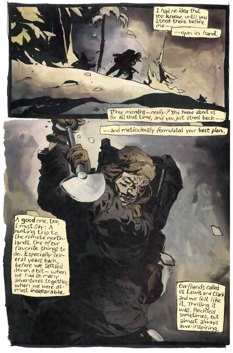 Read online Flinch comic -  Issue #4 - 3