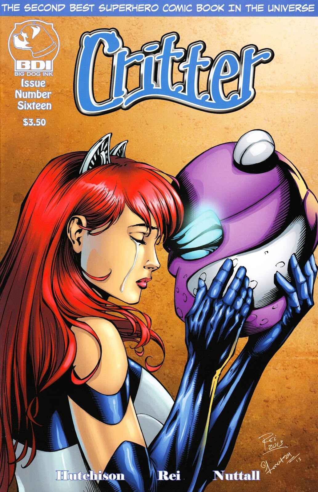 Read online Critter (2012) comic -  Issue #16 - 1