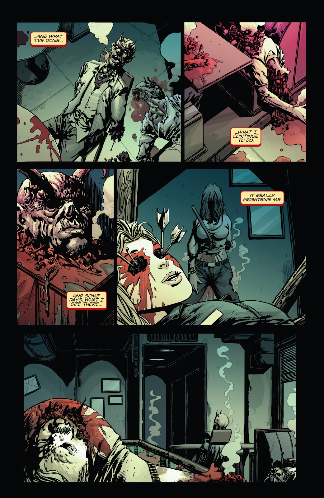 Read online Vampirella Strikes comic -  Issue #1 - 7