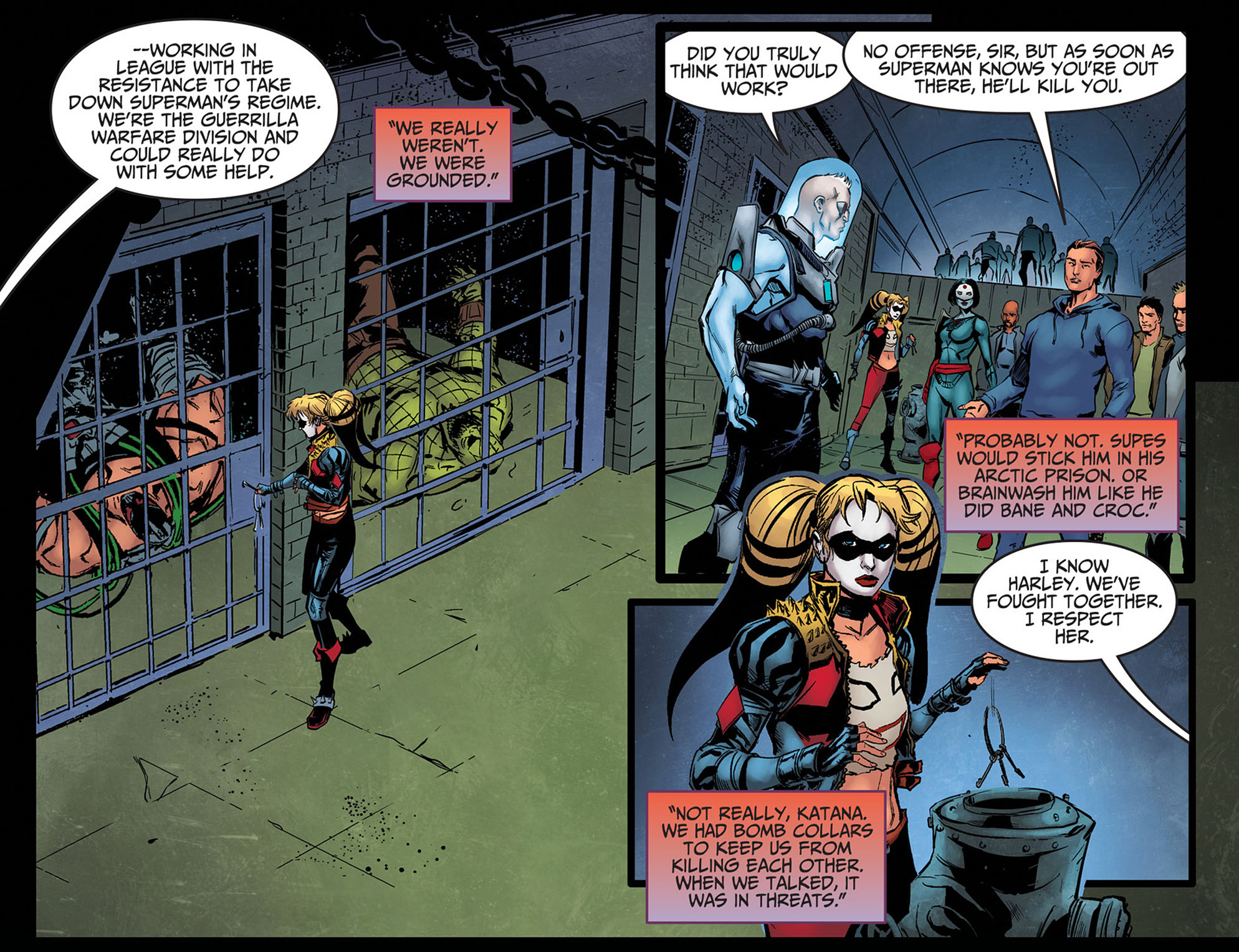 Read online Injustice: Ground Zero comic -  Issue #8 - 22