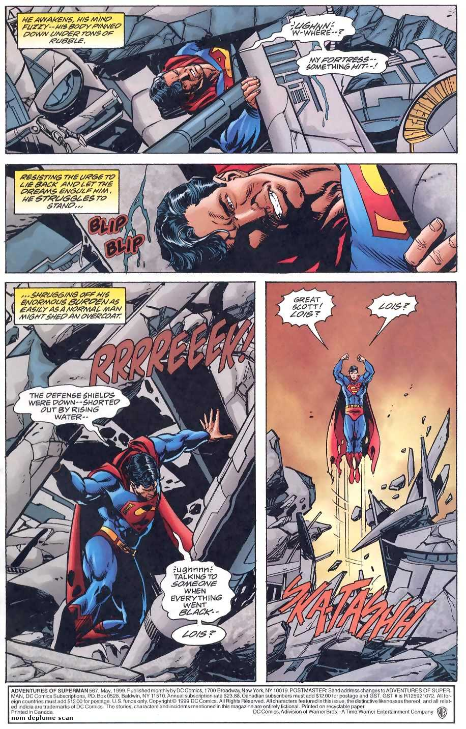 Read online Adventures of Superman (1987) comic -  Issue #567 - 2