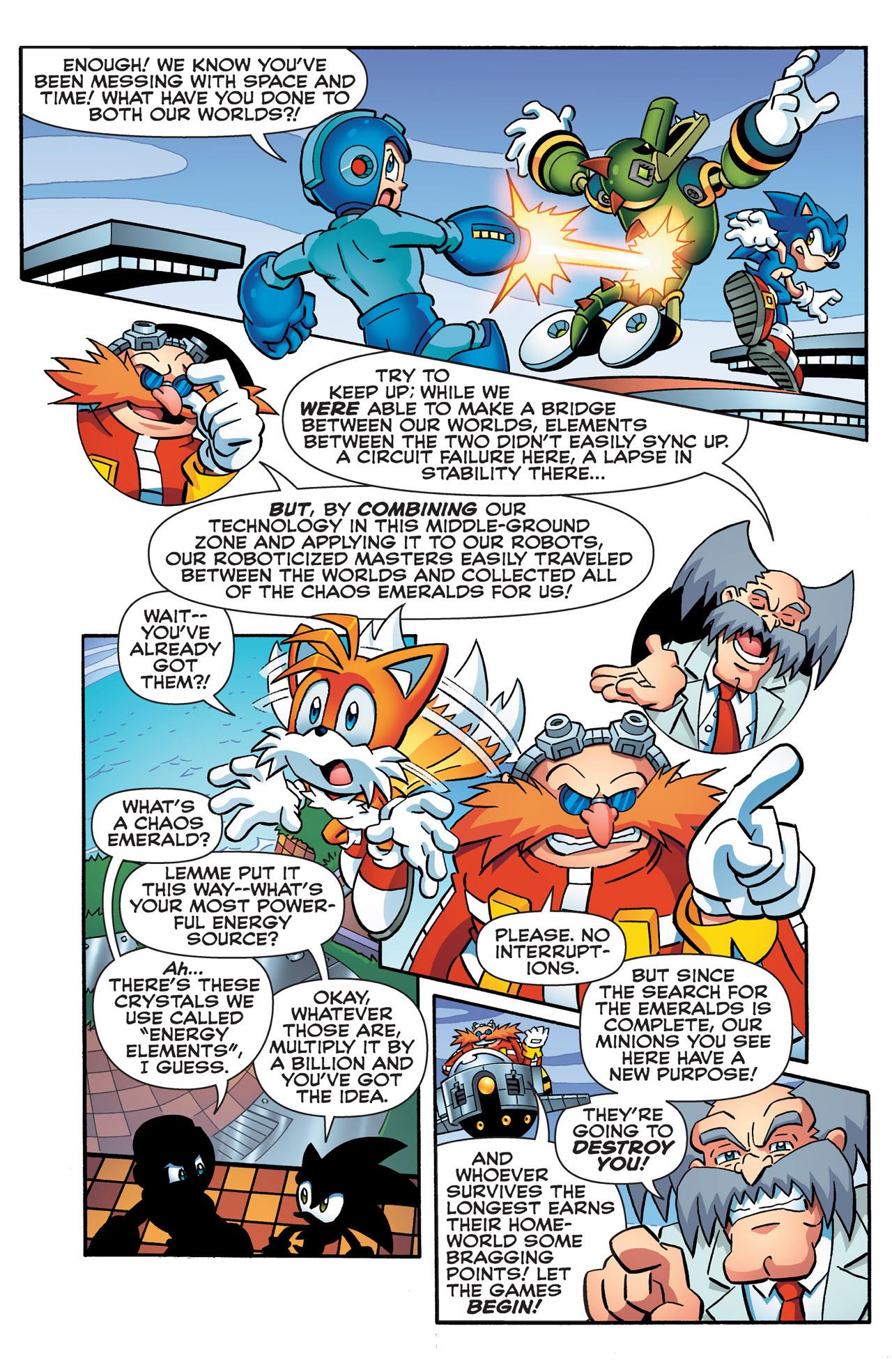 Read online Sonic Mega Man Worlds Collide comic -  Issue # Vol 2 - 38