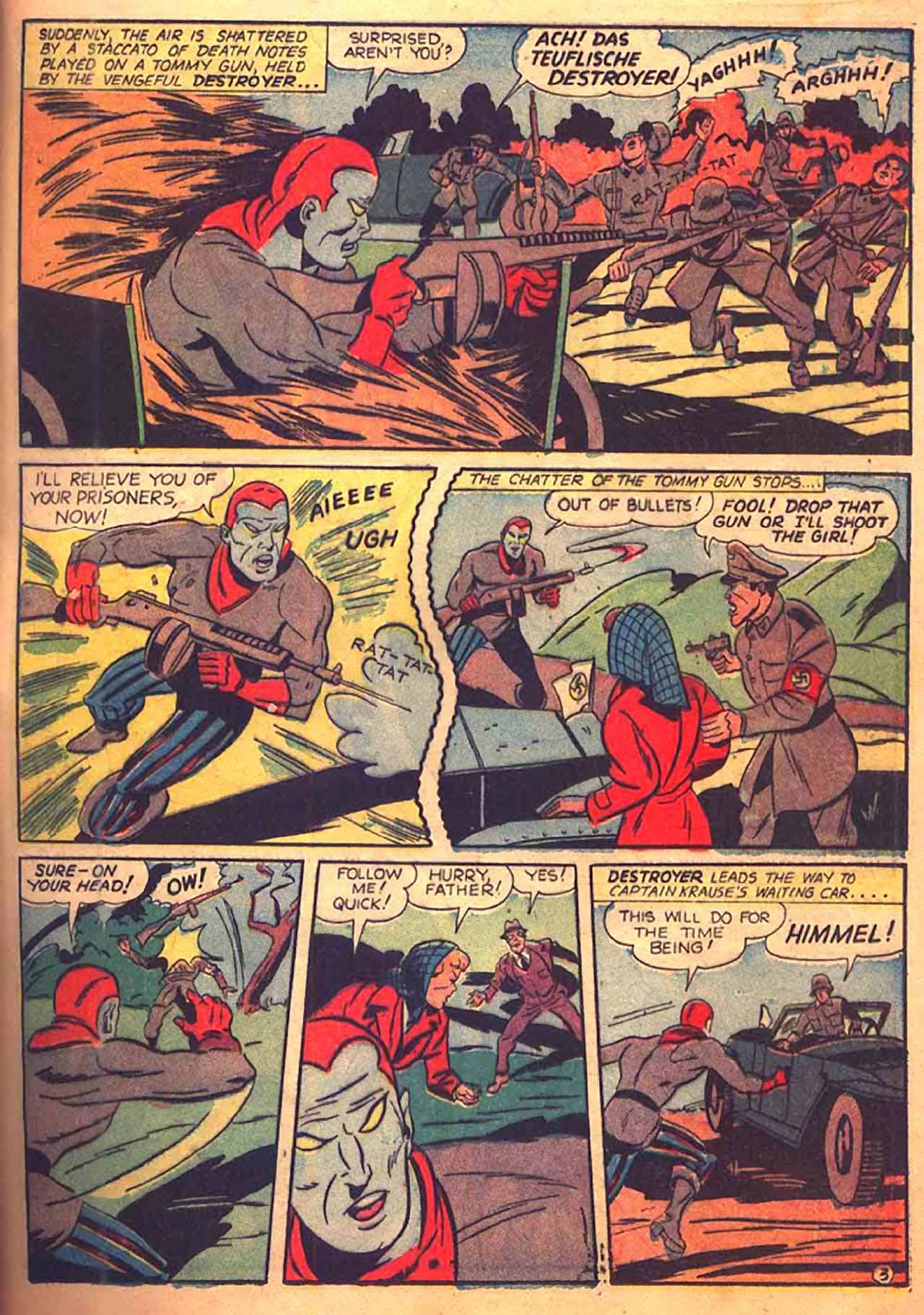 Read online All-Winners Comics comic -  Issue #9 - 42