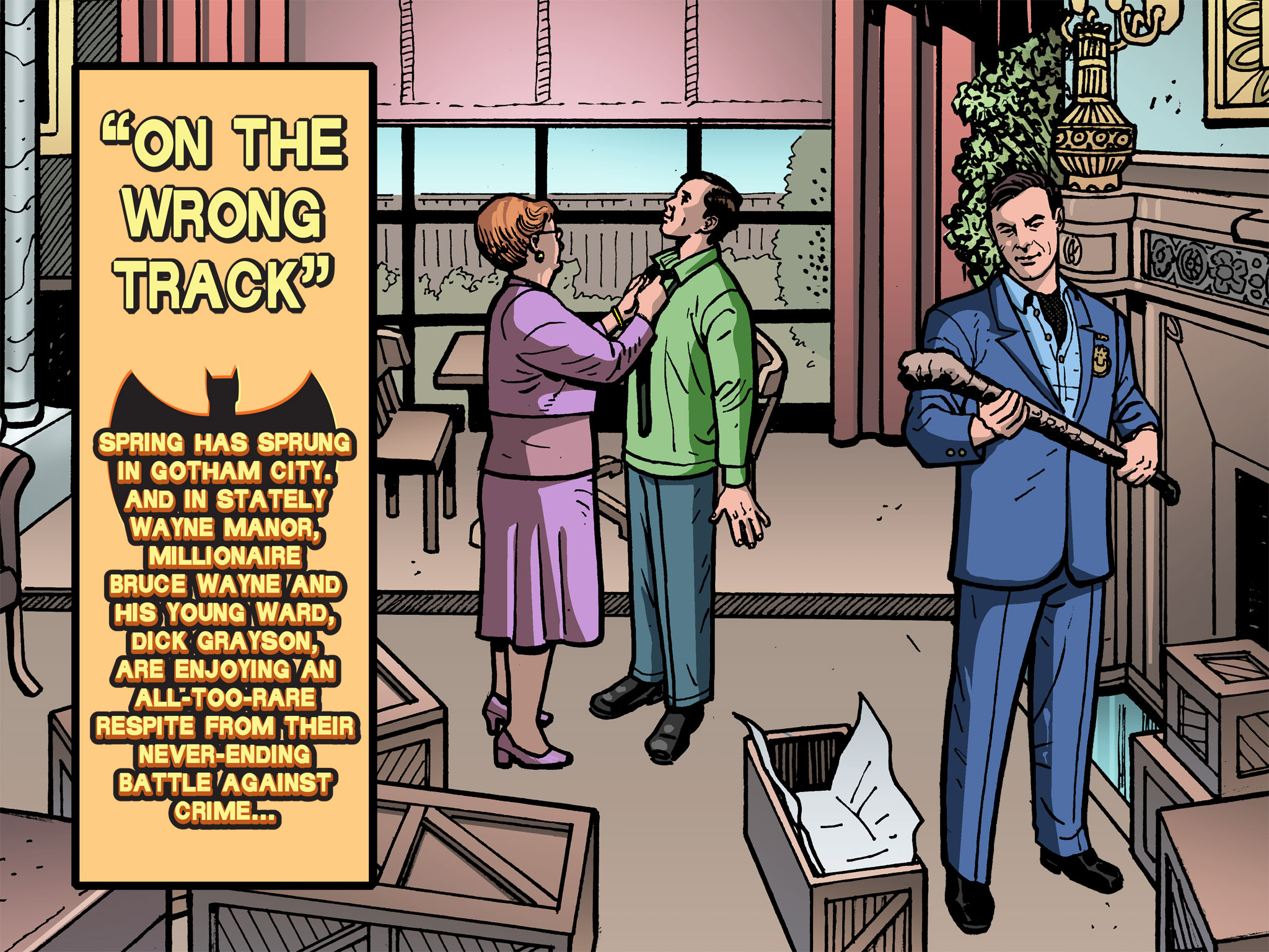 Read online Batman '66 Meets the Green Hornet [II] comic -  Issue #1 - 1