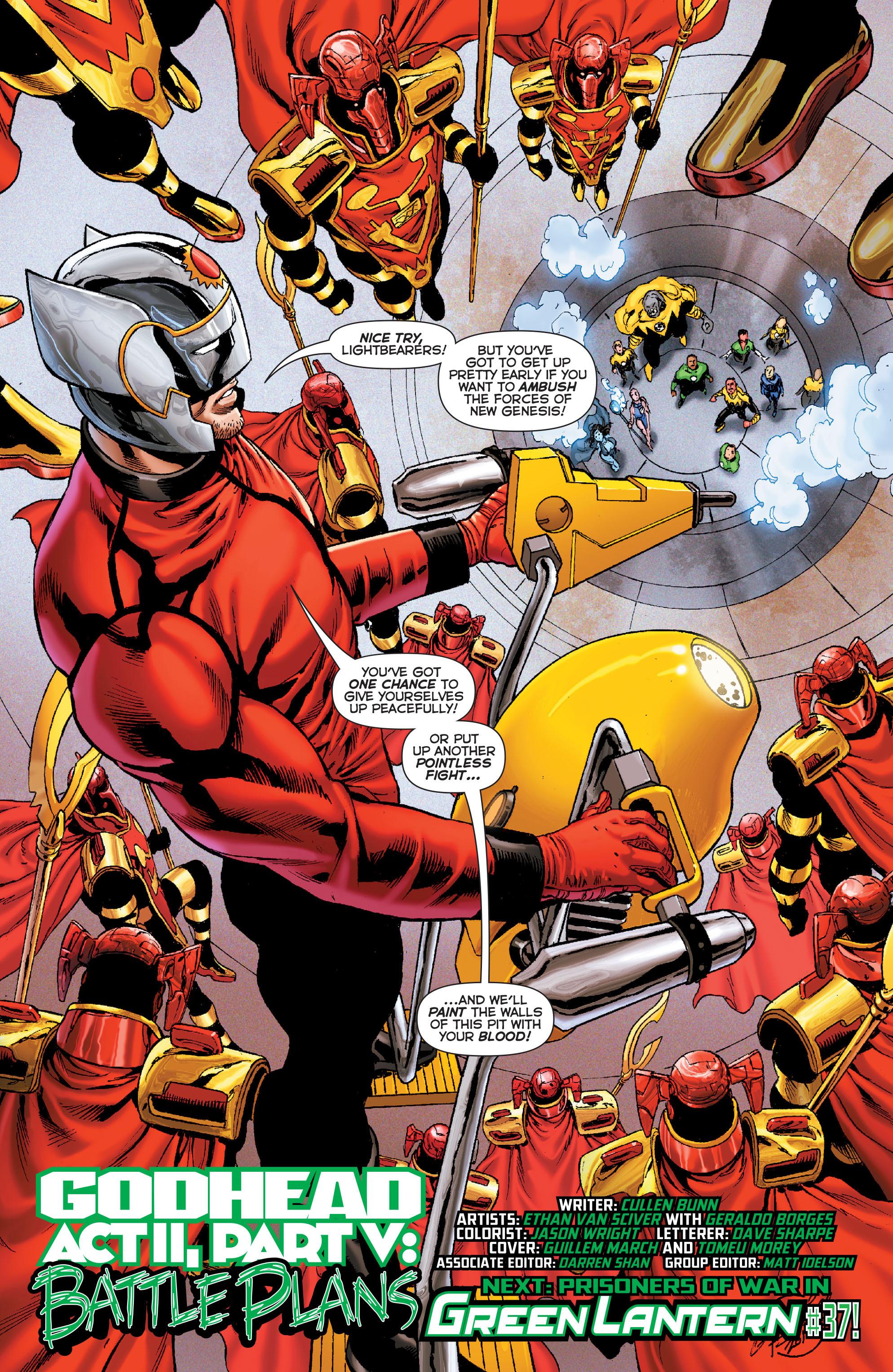 Read online Sinestro comic -  Issue #7 - 21