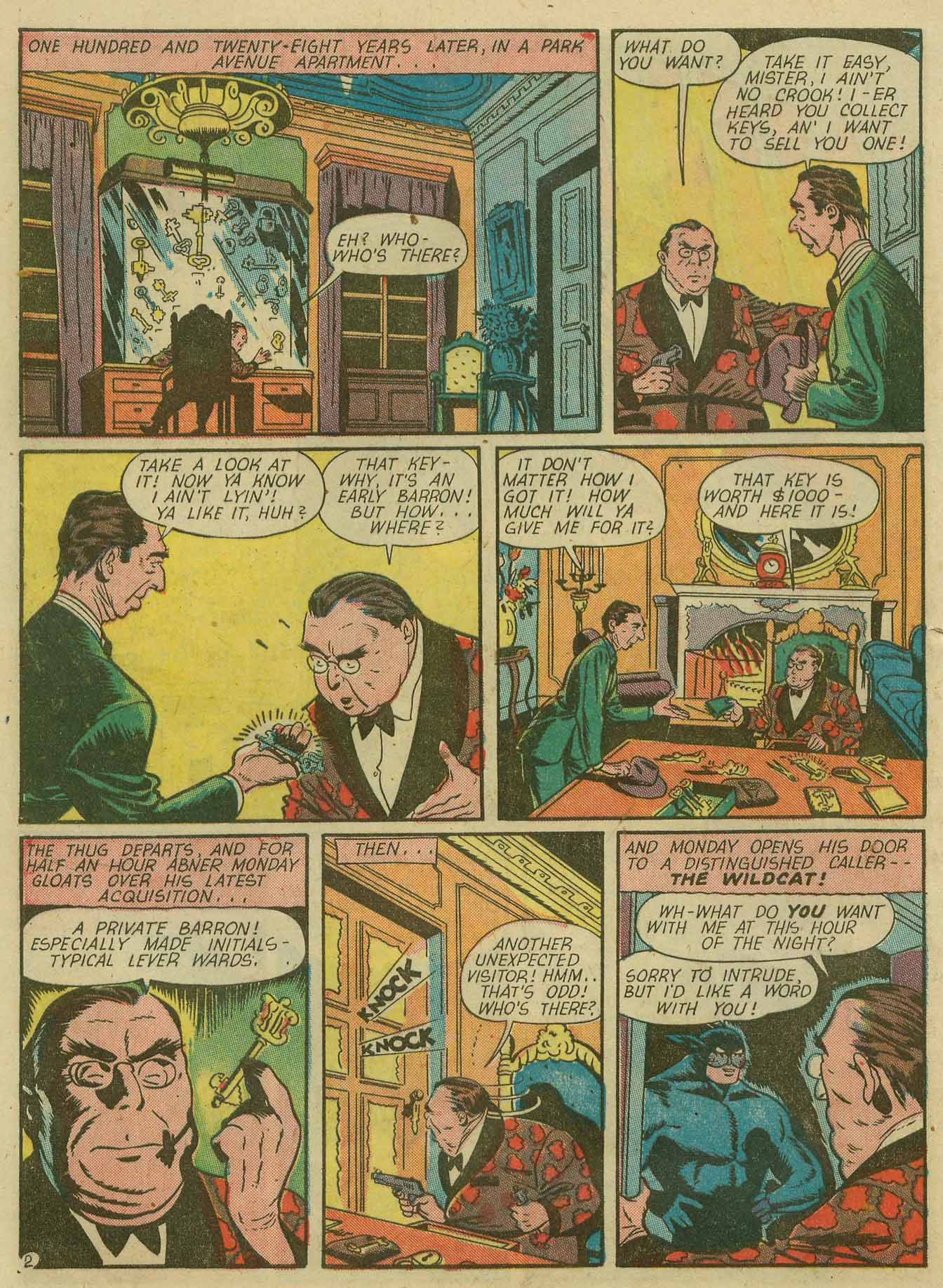 Read online Sensation (Mystery) Comics comic -  Issue #28 - 51