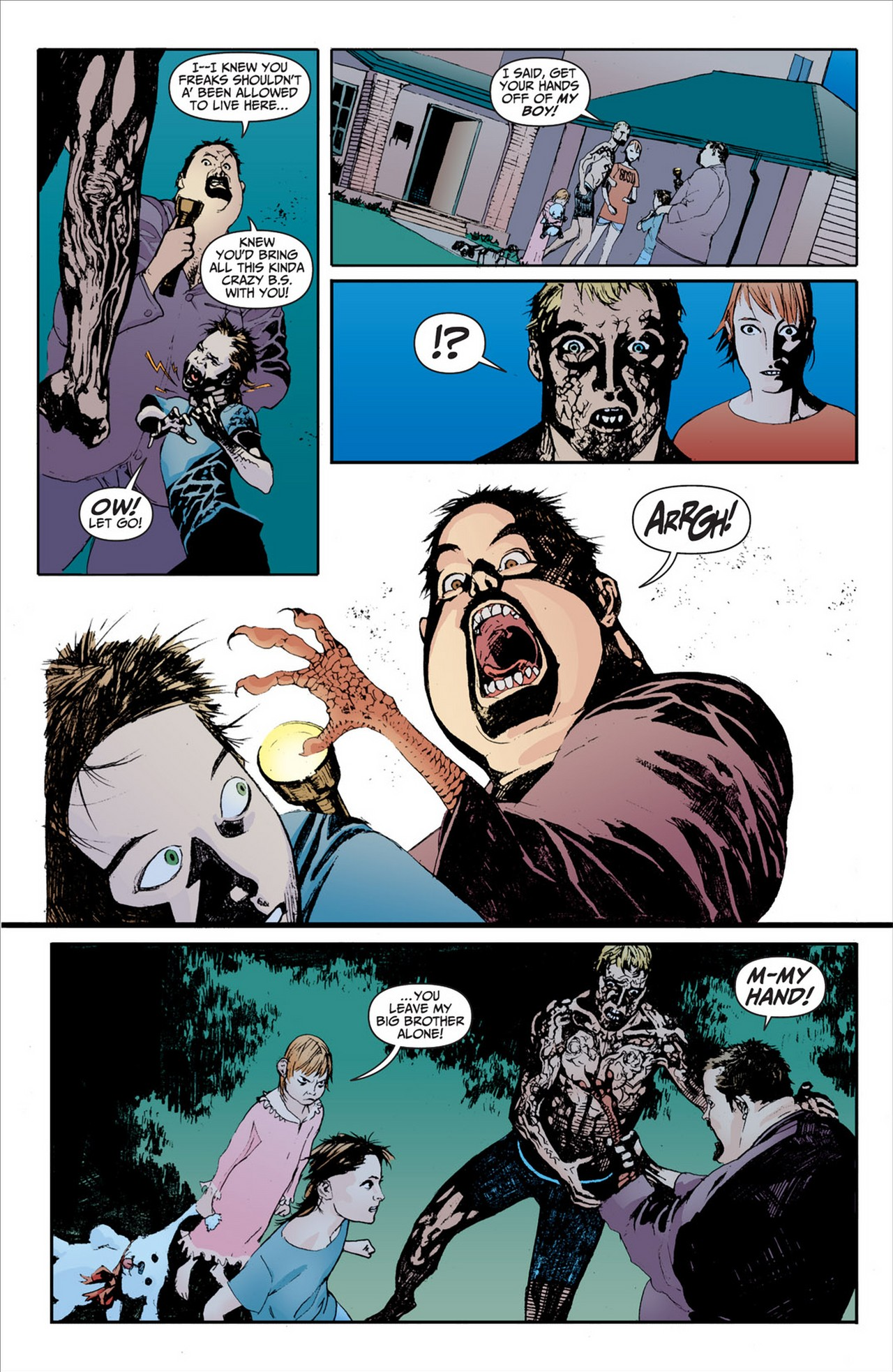 Read online Animal Man (2011) comic -  Issue #2 - 8