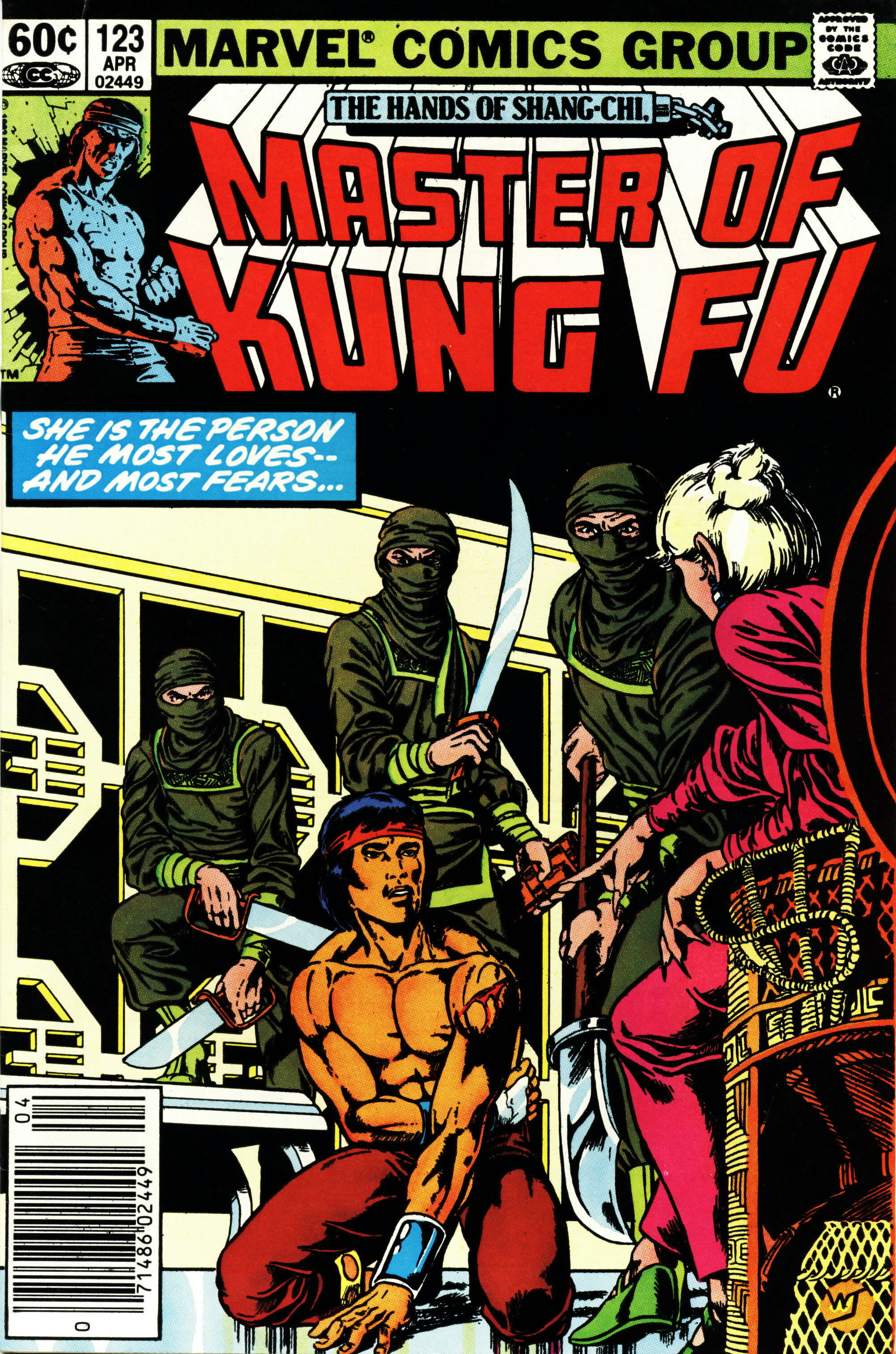 Read online Master of Kung Fu (1974) comic -  Issue #123 - 1