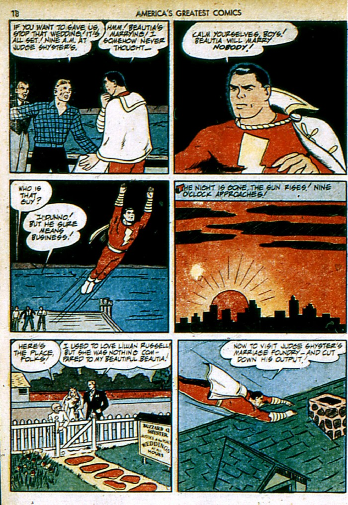 Read online America's Greatest Comics comic -  Issue #4 - 18